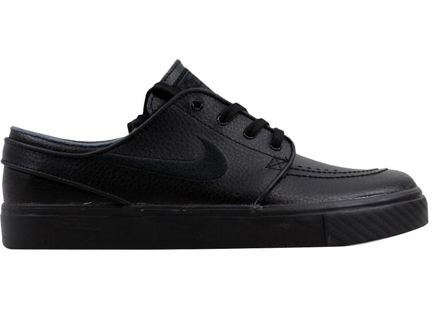Nike Zoom Stefan Janoski L Black Black-Black-Anthracite - 616490-006 fbddf25e9