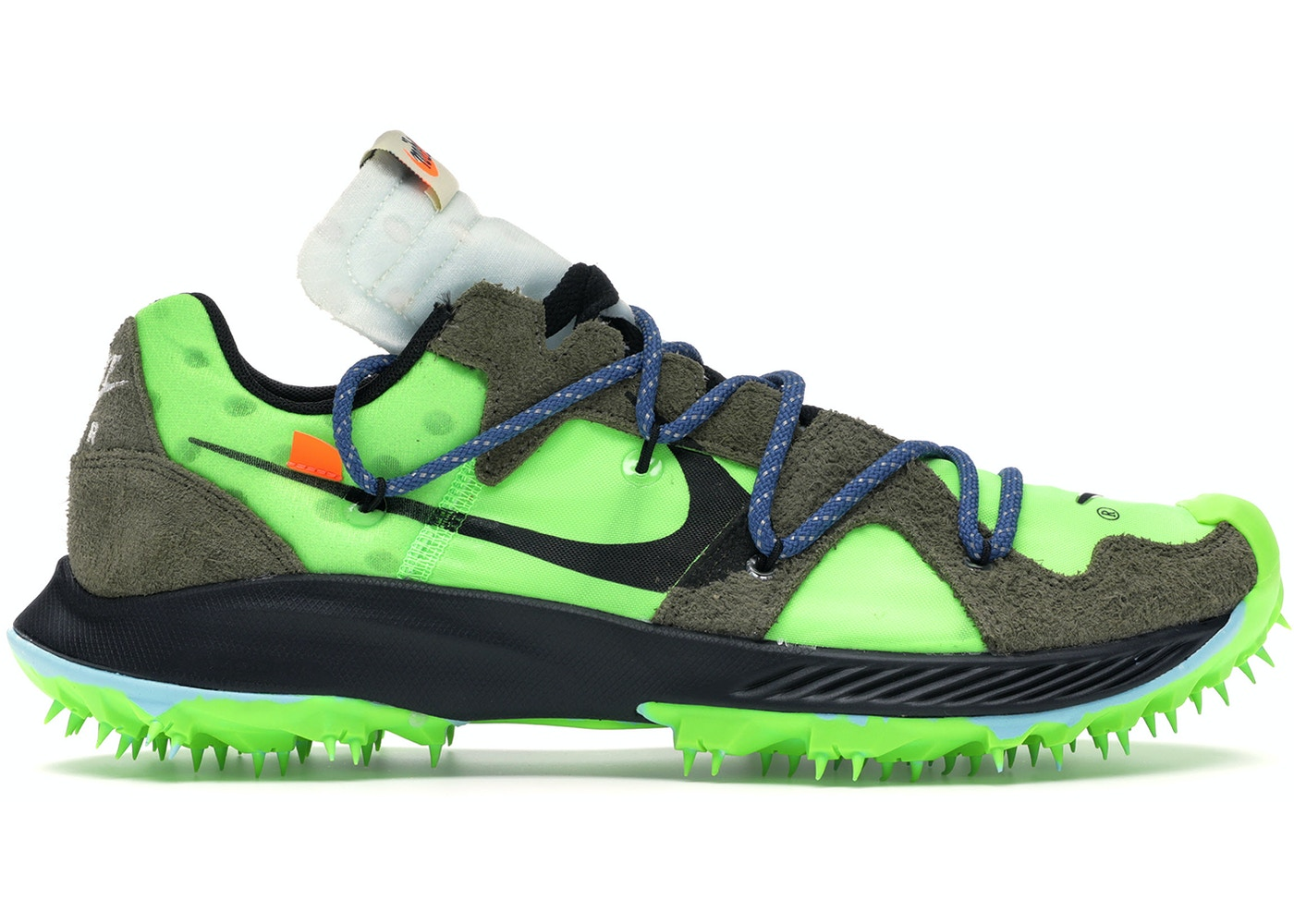 premium selection new styles available Nike Zoom Terra Kiger 5 OFF-WHITE Electric Green (W) - CD8179-300