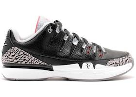 Nike Zoom Vapor AJ3 Black Cement