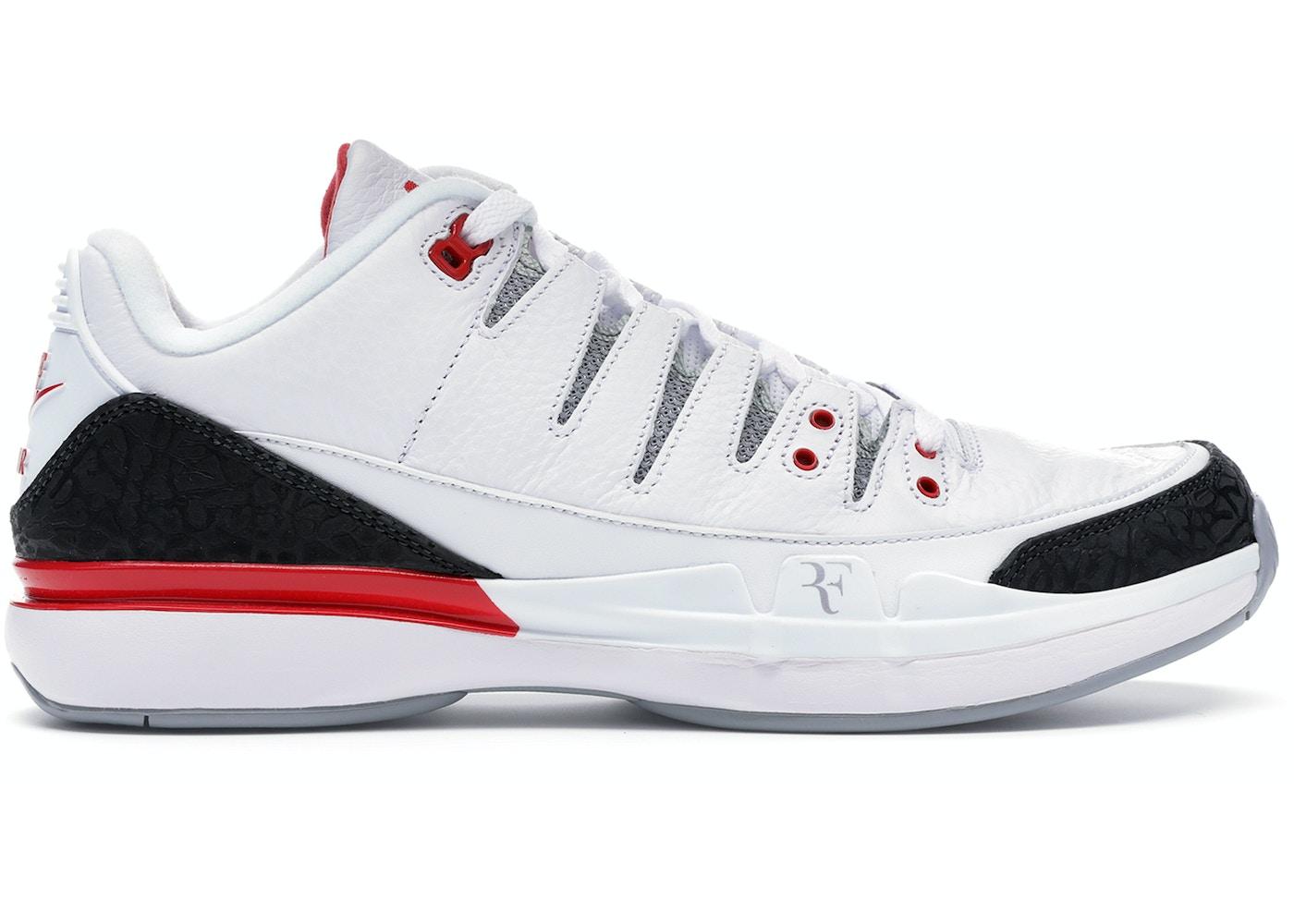 Nike Zoom Vapor AJ3 Fire Red - 709998-106 7618c66c4