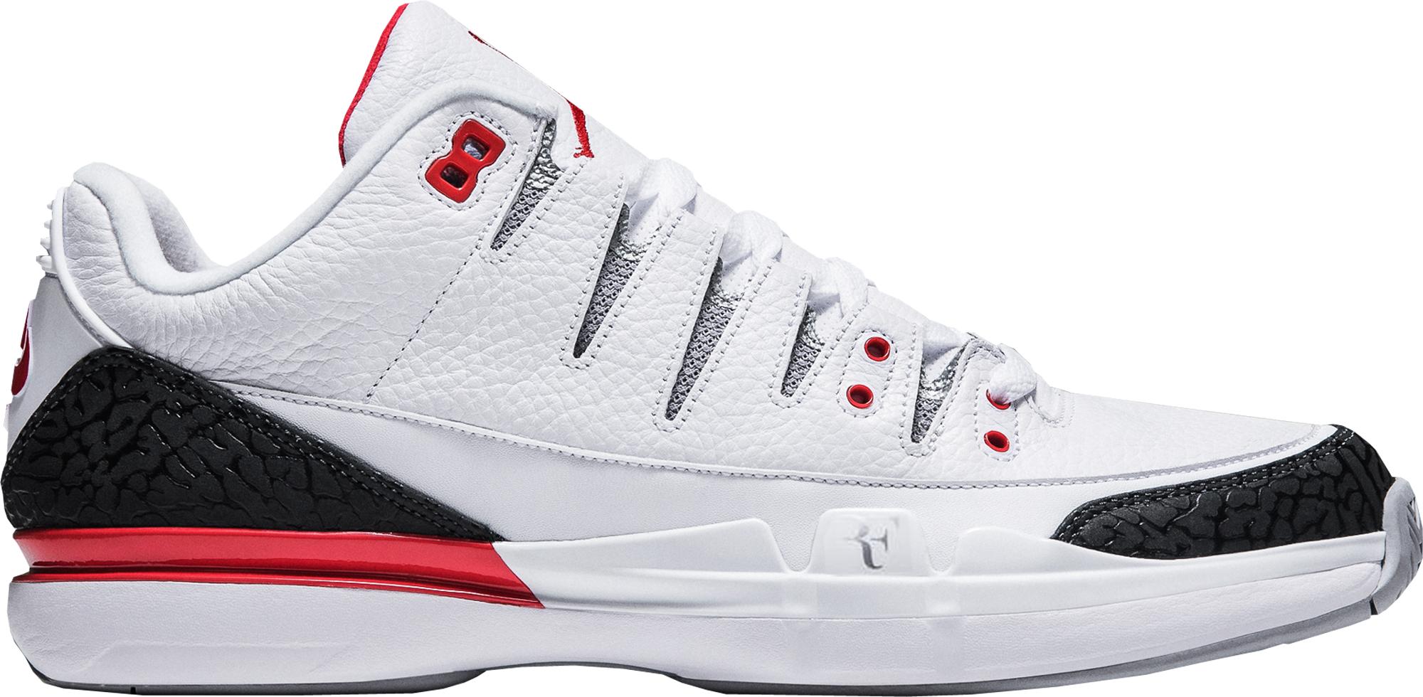 Nike Zoom Vapor AJ3 Fire Red