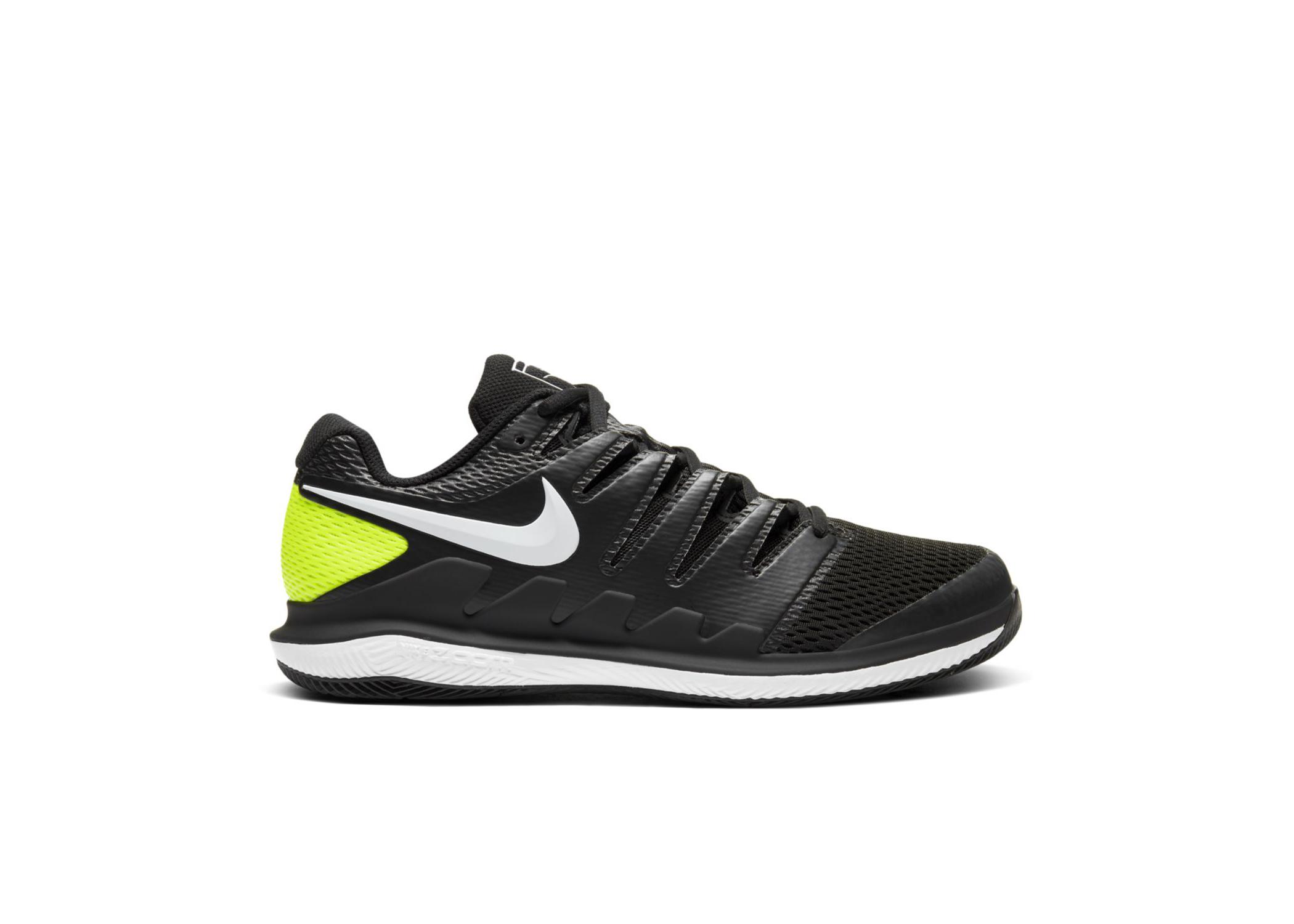 NikeCourt Air Zoom Vapor X Black Volt