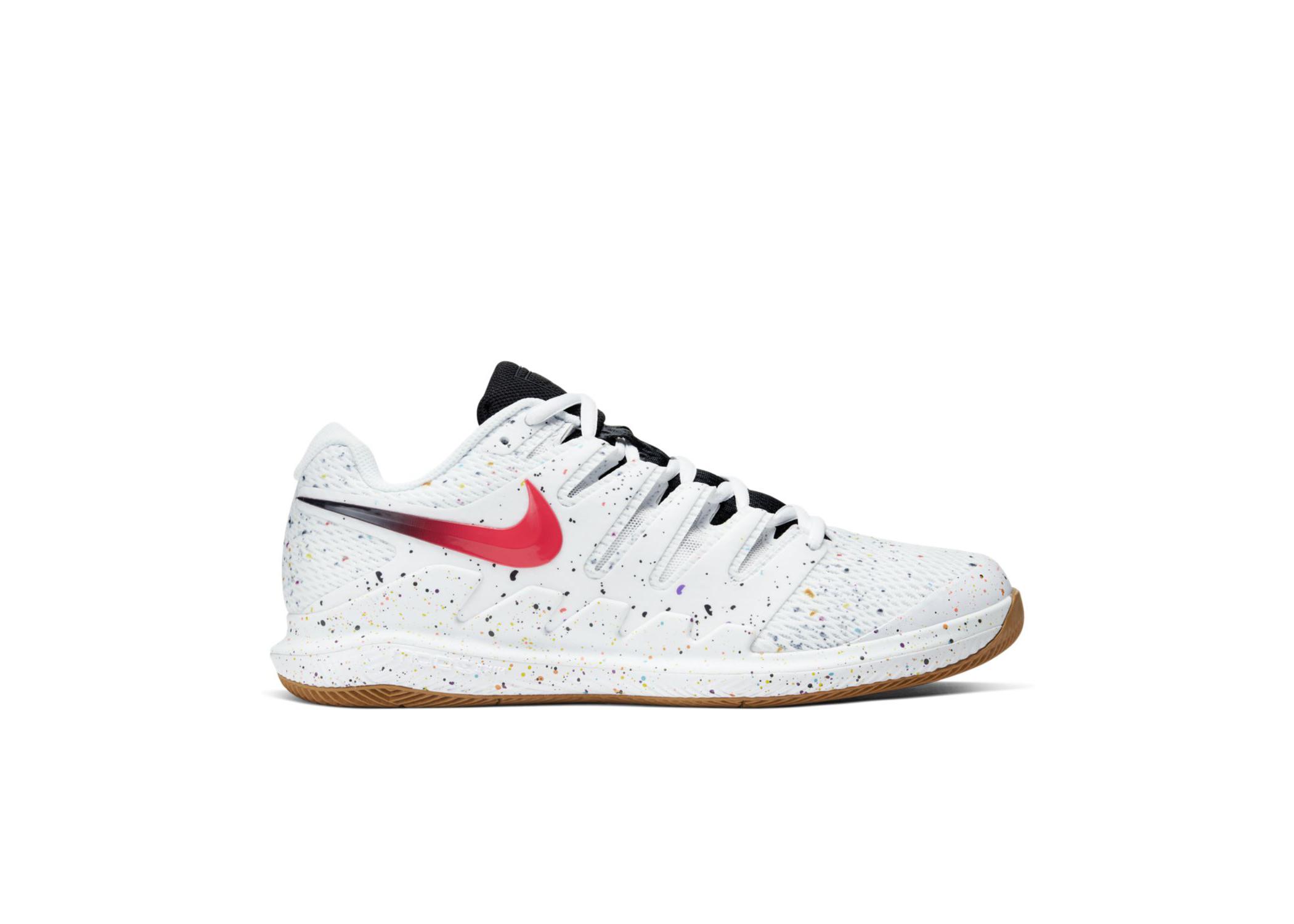 NikeCourt Air Zoom Vapor X White Oracle