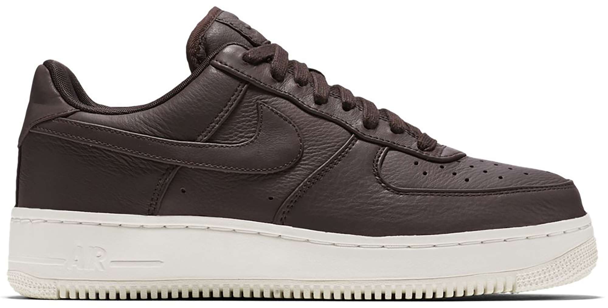 NikeLab Air Force 1 Low Velvet Brown