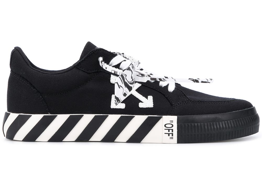 Off-White Logo Patch Low Top Black