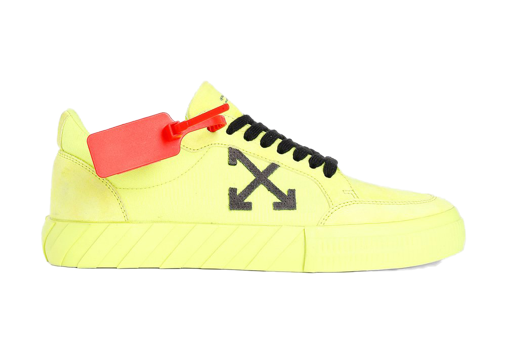 Off-White Low Vulc Fluo Yellow