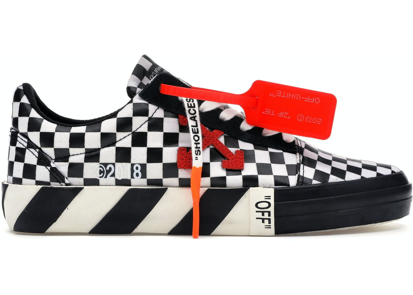 31ffdc0e071 Off-White Vulc Low Checkered Black White - OMIA085E18351001 9900