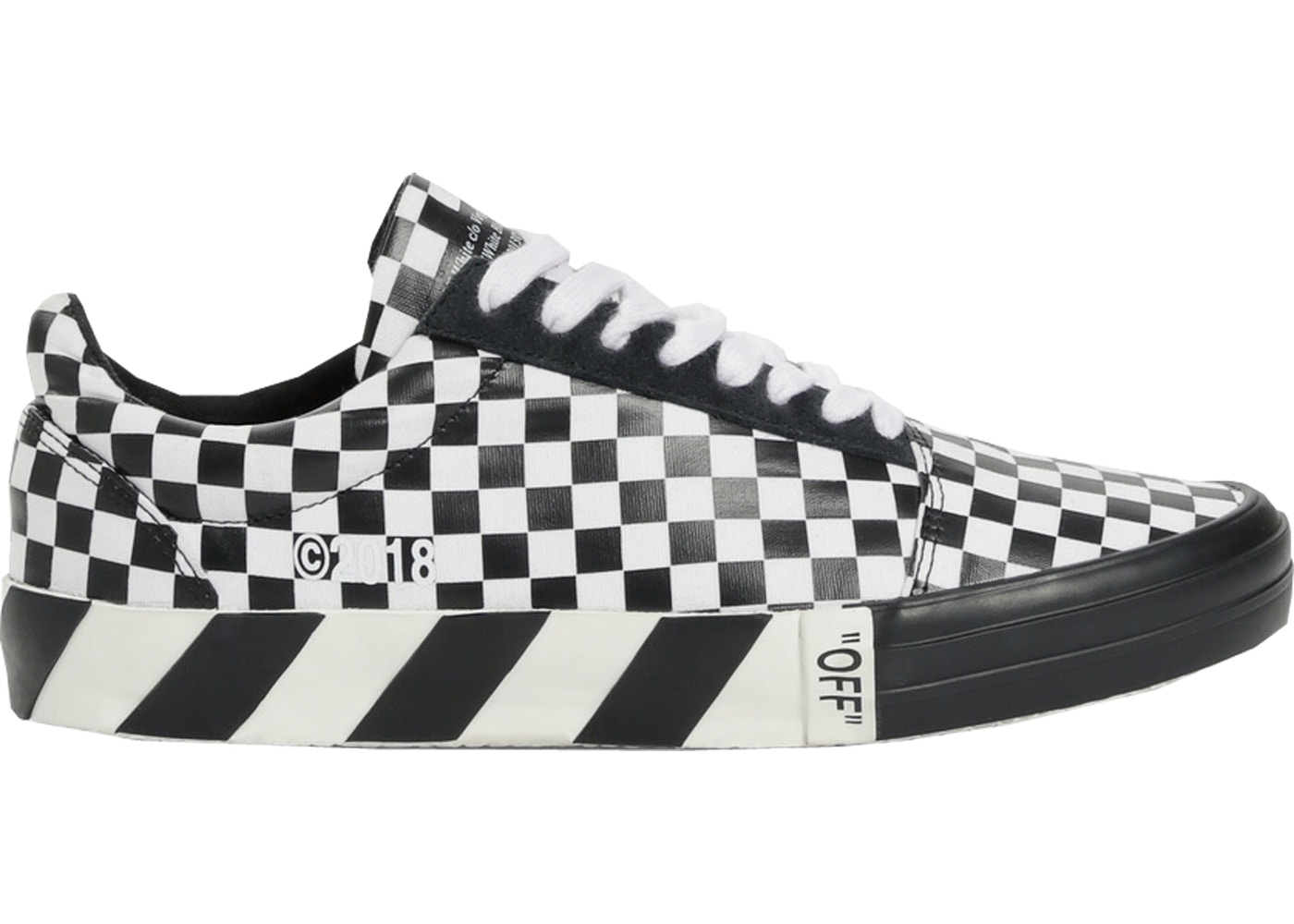 98c9e7605a6 Sell. or Ask. Size --. View All Bids. Off-White Vulc Low Checkered