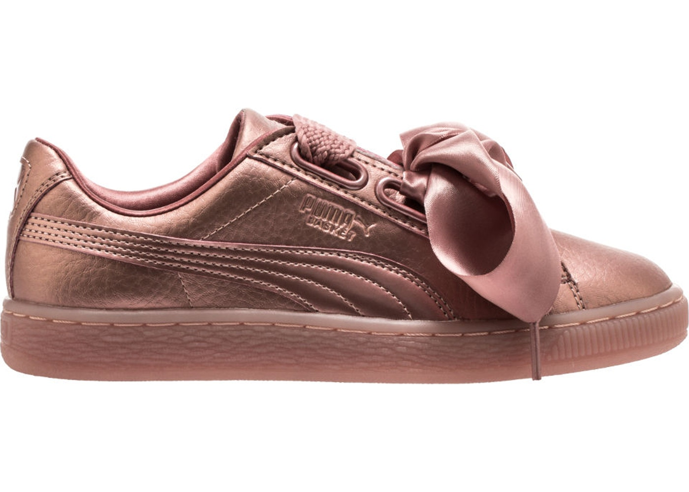 newest b0e2b 2c294 Puma Basket Heart Copper (W)