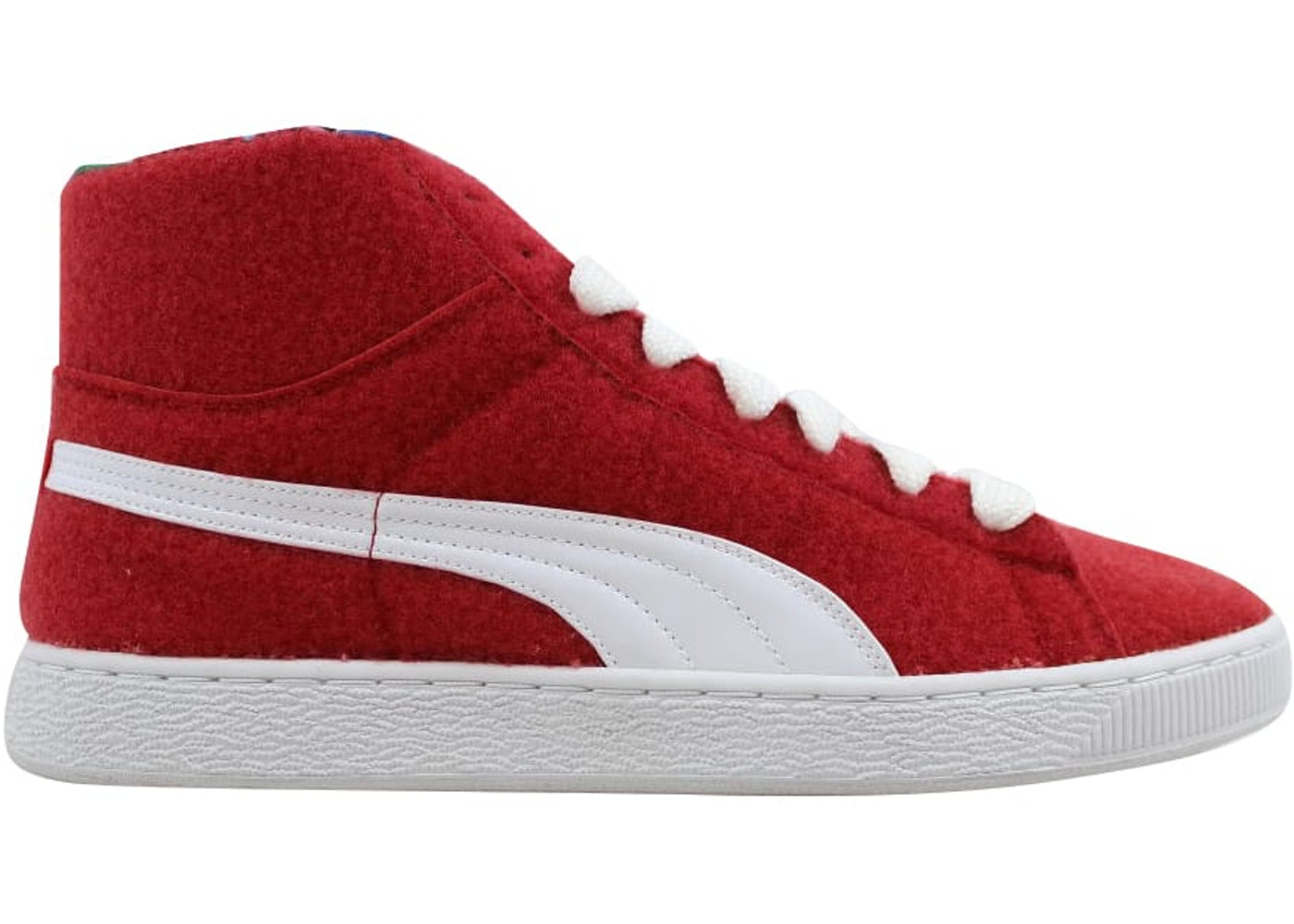 newest collection c6f95 0dbc9 Puma Basket Mid X Dee & Rickey CR Ribbon Red/White - 360085-01