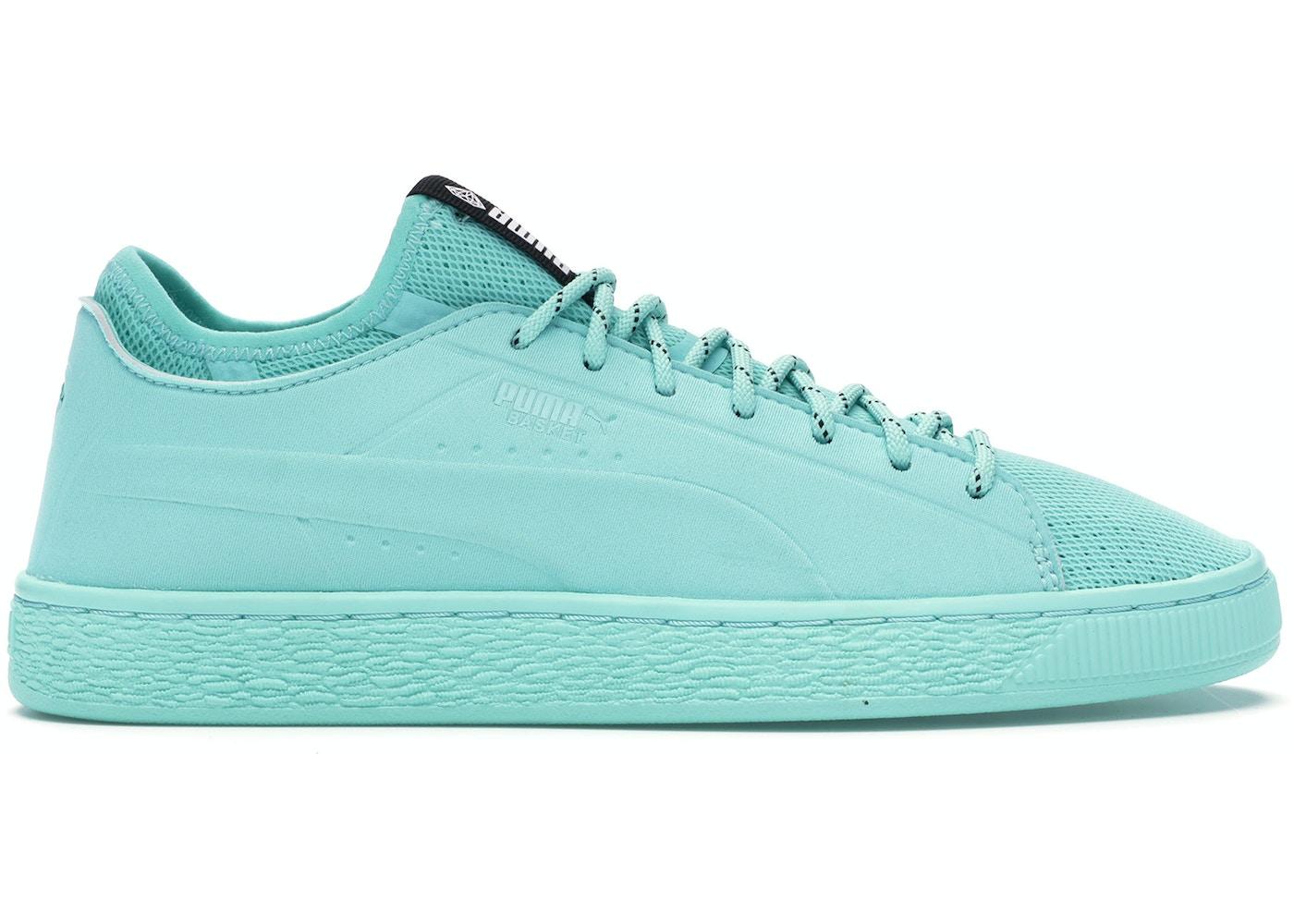 competitive price 007e4 6dbcb Puma Basket Sock Lo Diamond Supply Co Blue