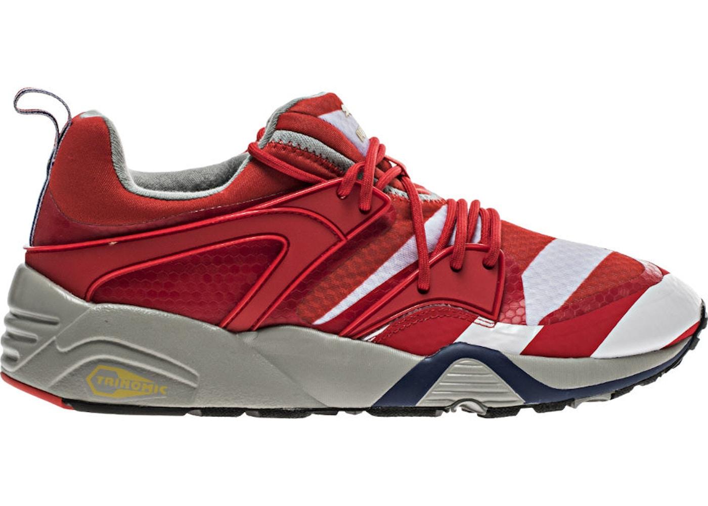 5e08c7c8f03 Puma Blaze Of Glory Rwb High Risk Red- Blue-White - 362096-01