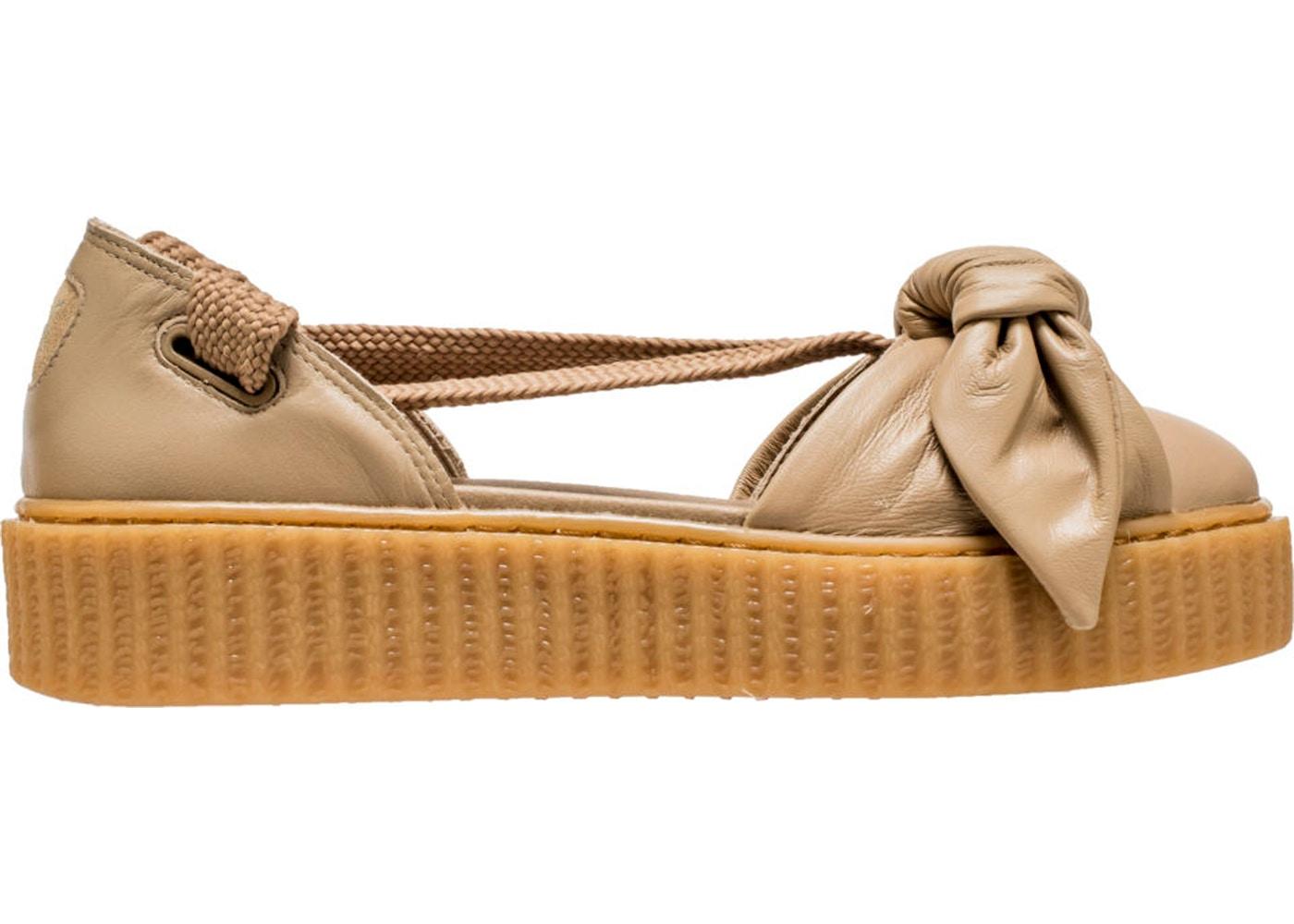 747ce80349b7 Puma Bow Creeper Sandal Rihanna Fenty Natural (W) - 365794-03