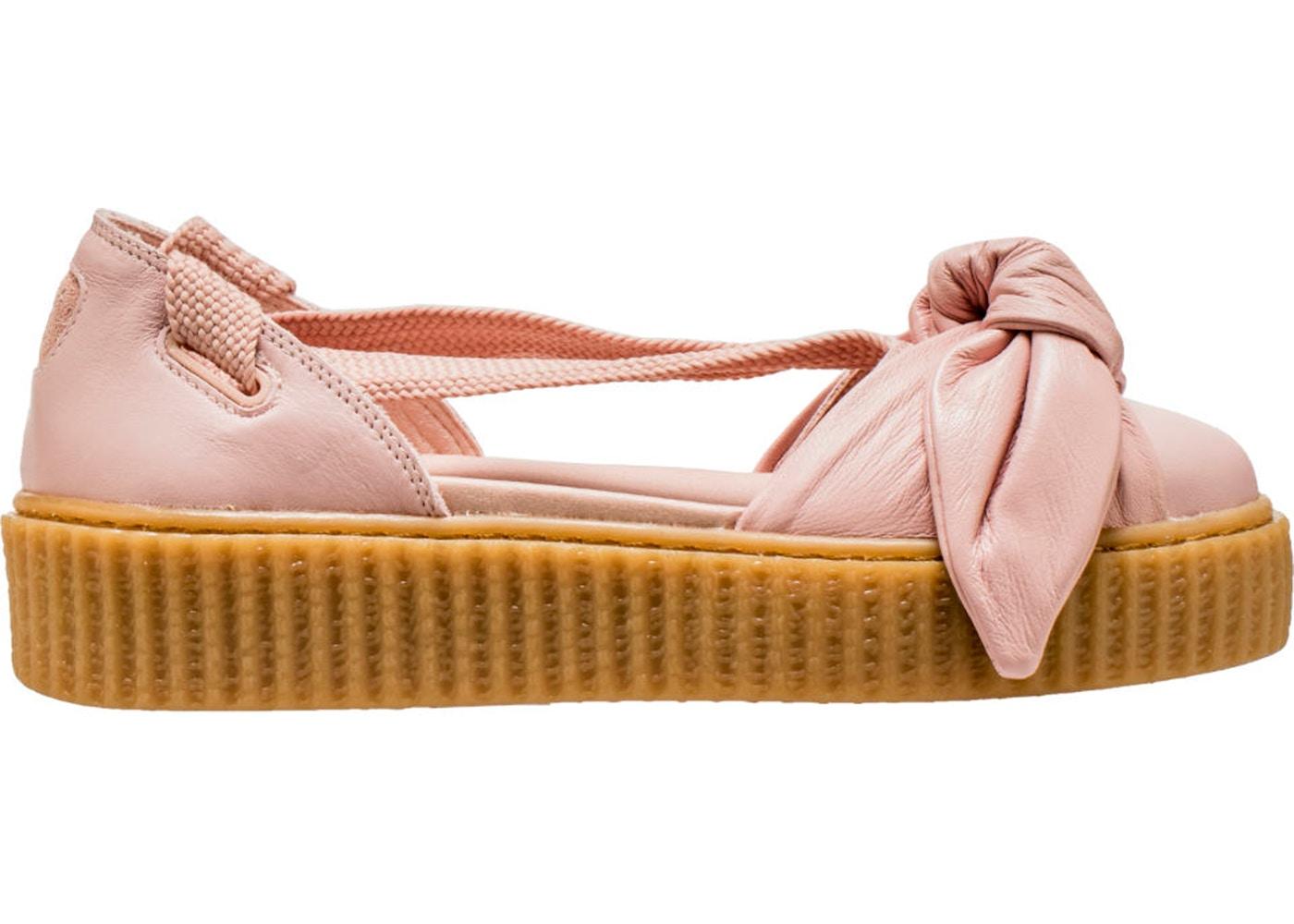 new product 0ffa6 9dd87 Sell. or Ask. Size  8W. View All Bids. Puma Bow Creeper Sandal Rihanna  Fenty Silver Pink ...