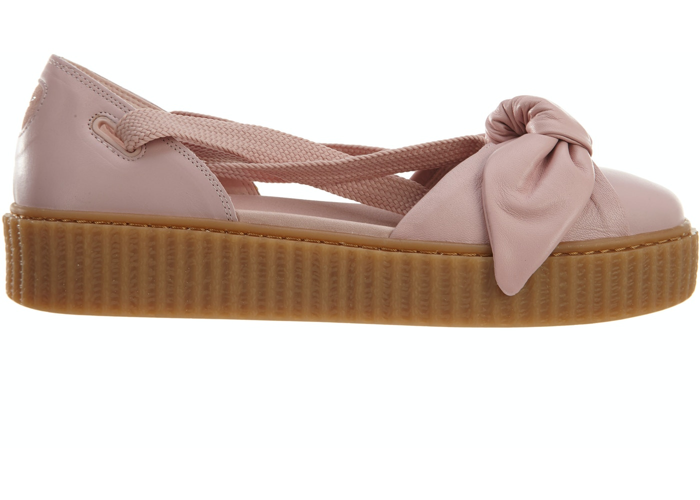448eb911839b Puma Bow Creeper Sandal Silver Pink Pink-Oatmeal (W) - 365794