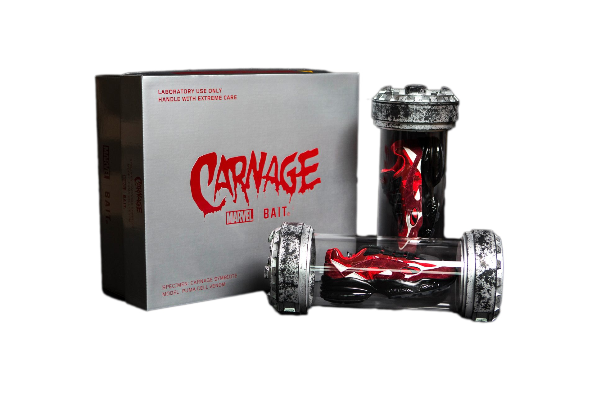 Puma Cell Bait x Marvel Carnage (Special Box/Cannister)