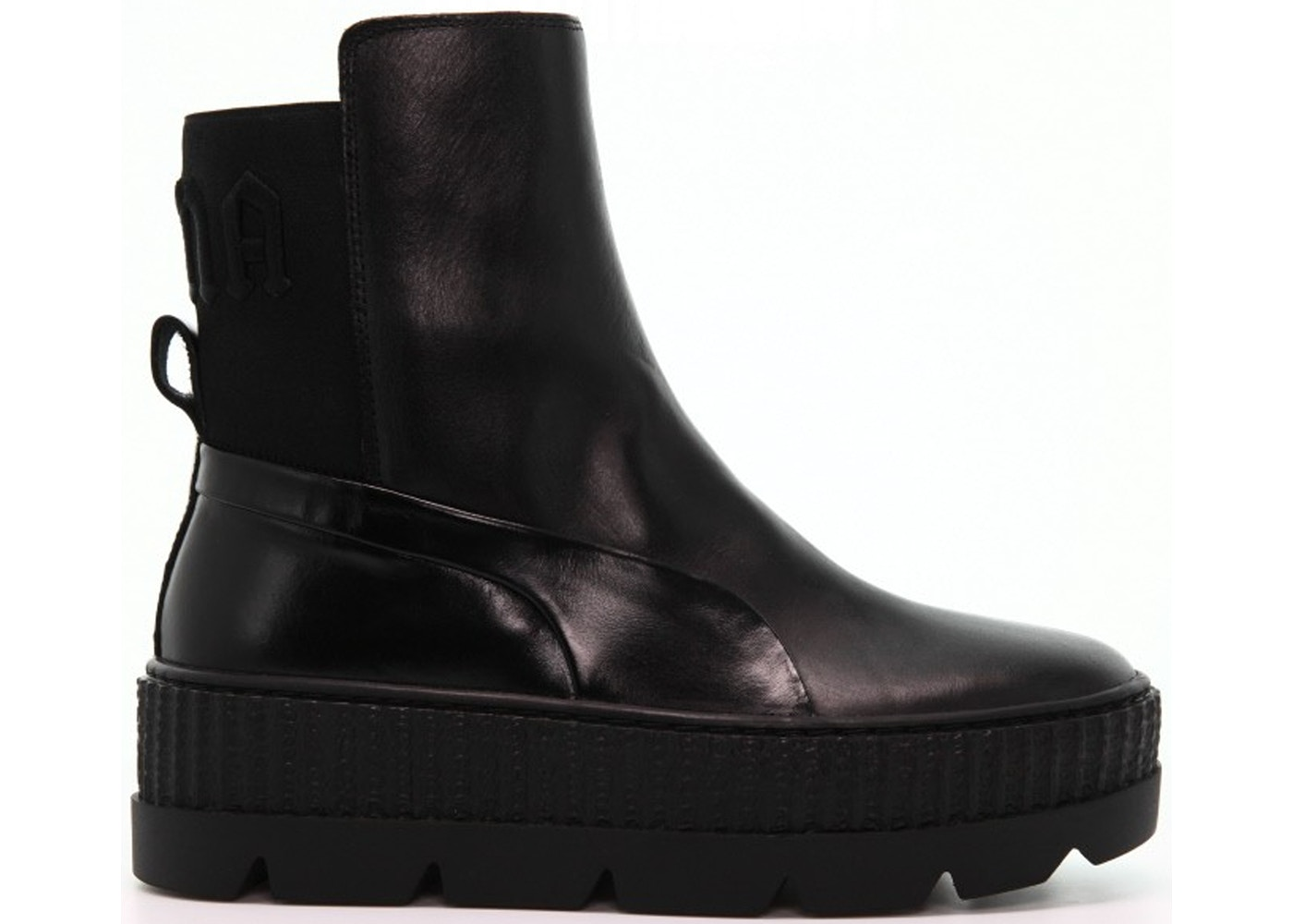 finest selection e4a8d 6c163 Puma Chelsea Sneaker Boot Rihanna Fenty Black (W)