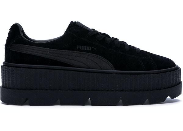 brand new a8958 849d5 Puma Cleated Creeper Rihanna Fenty Black (W) - 366268-04