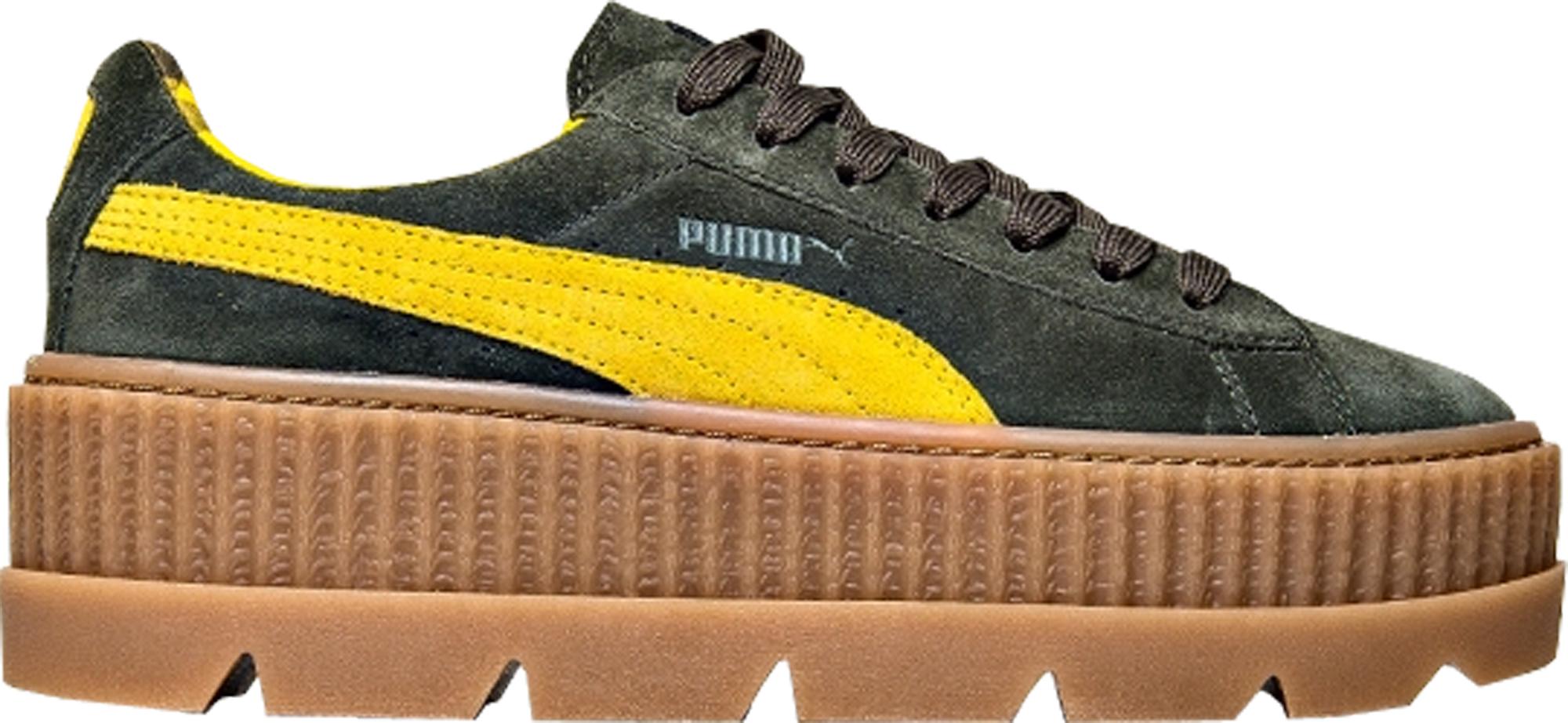 Puma Cleated Creeper Rihanna Fenty Suede Green (W)