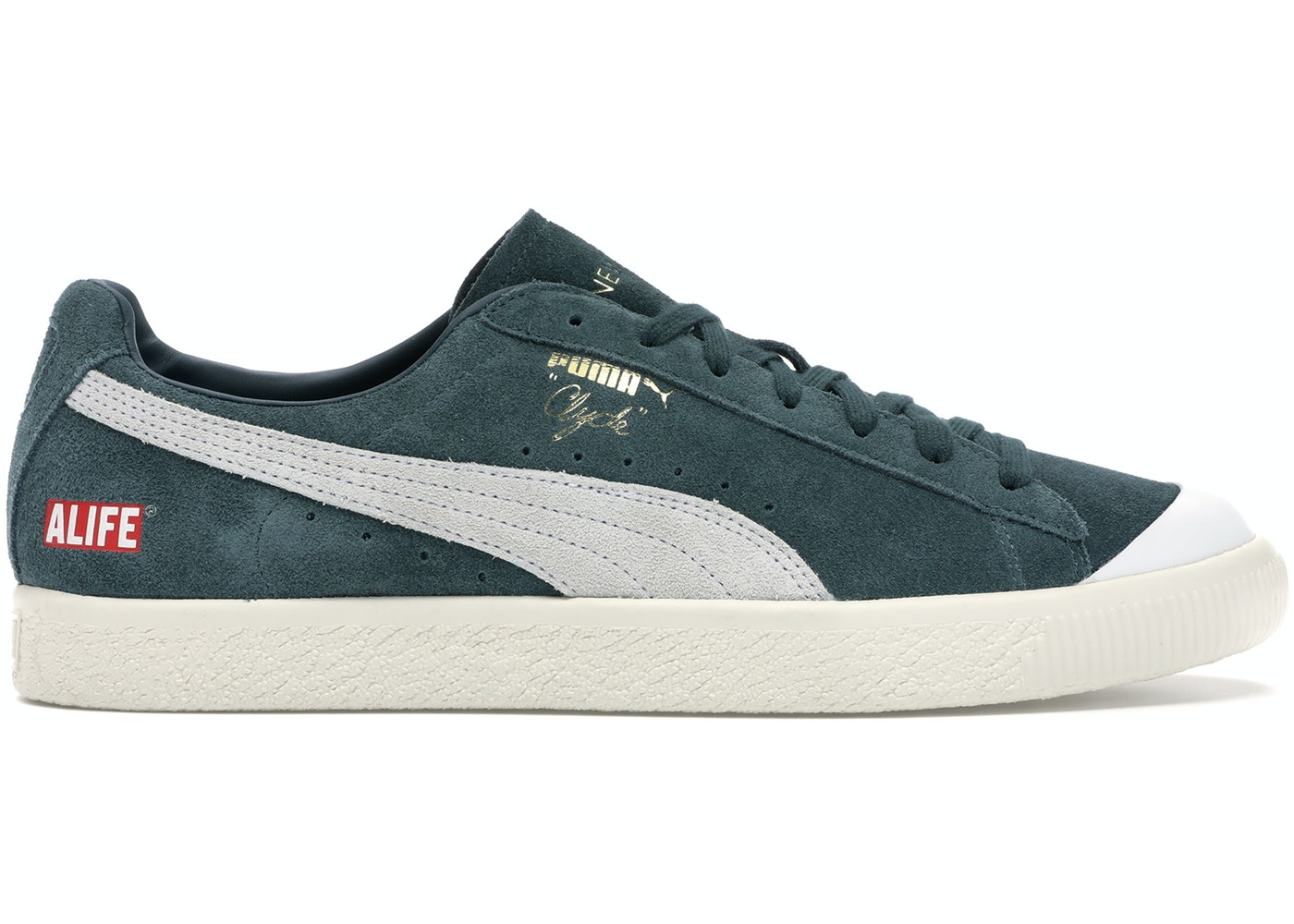 the best attitude d55c0 45d2b Puma Clyde Alife New York Green