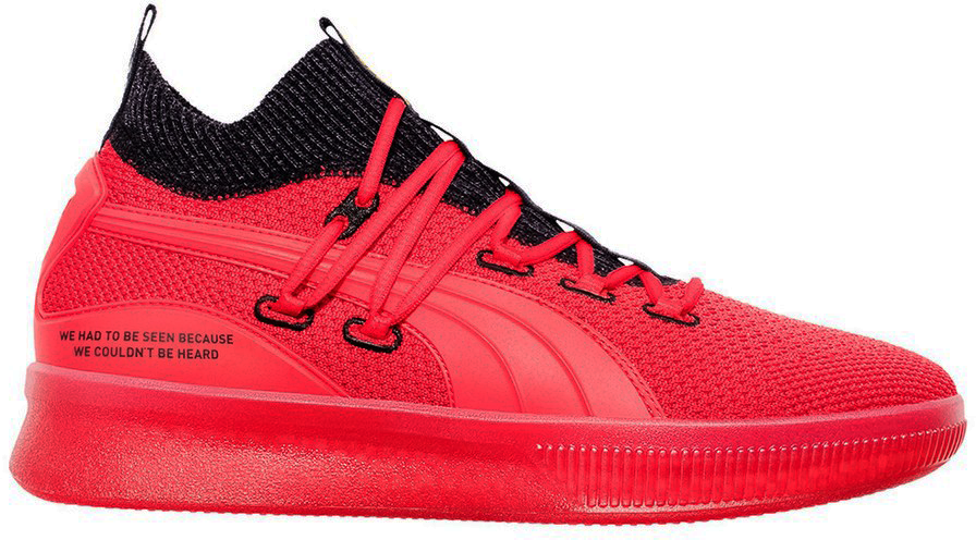 Pre-Owned Puma Clyde Court Reform Red