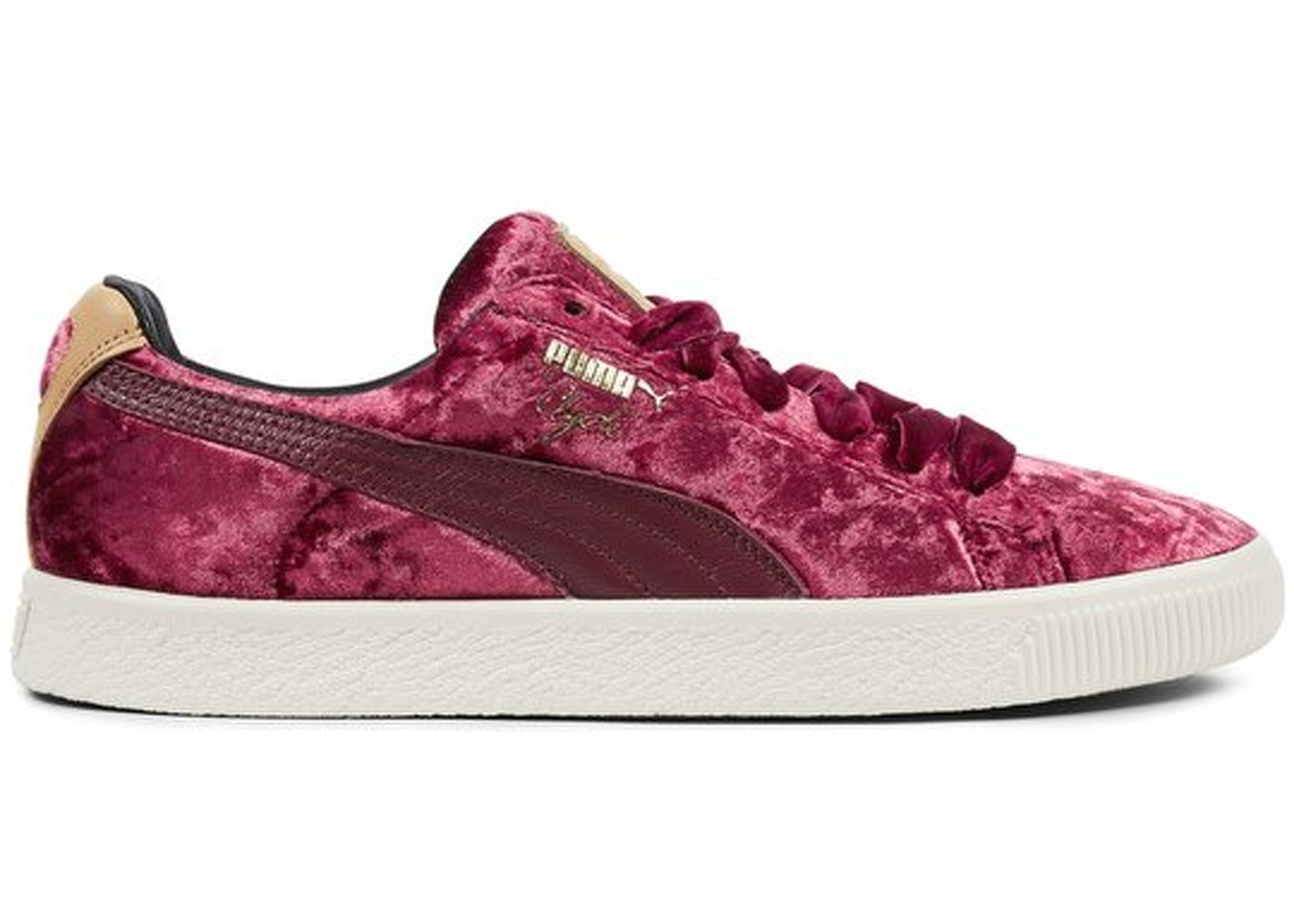 quality design 84ae1 74310 Puma Clyde Extra Butter Kings of New York Cabernet