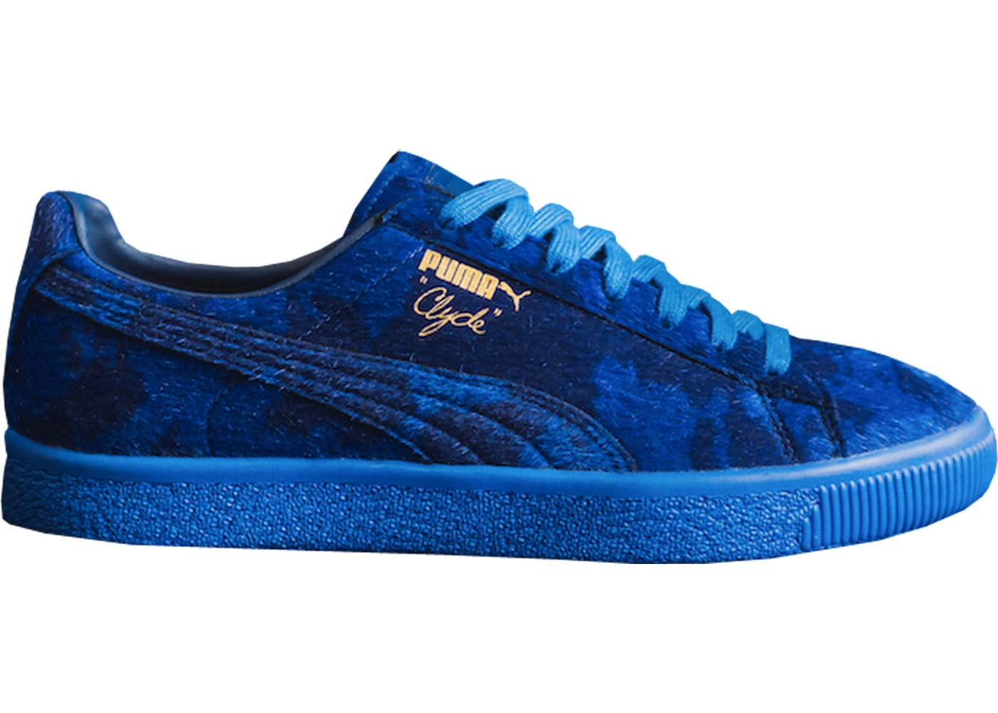 pretty nice 31dee ff203 Puma Clyde Packer Shoes Cow Suit Blue