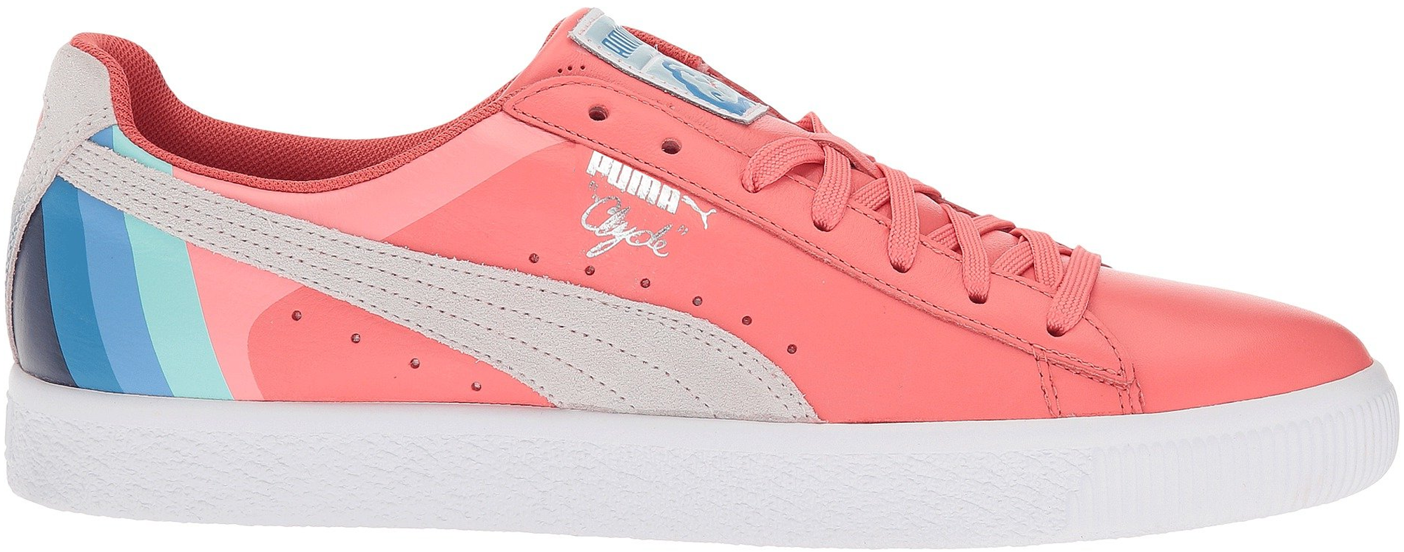 Puma Clyde Pink Dolphin Porcelain Rose