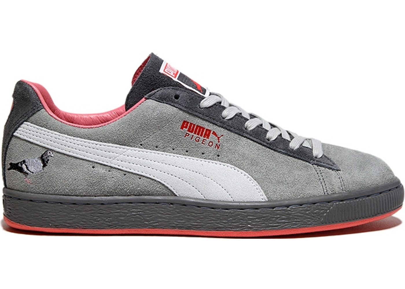 the latest 964df 4b04a Puma Clyde Staple Pigeon