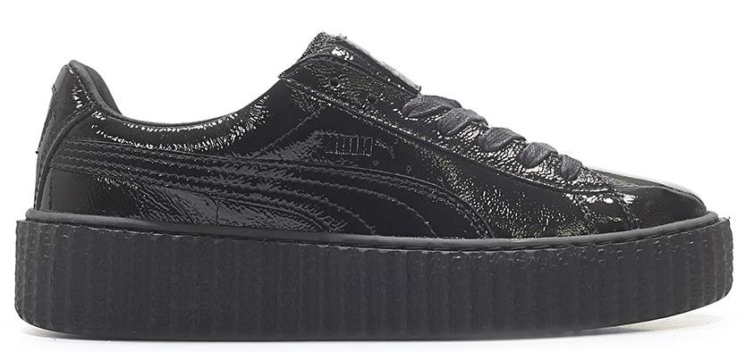 Puma Creeper Rihanna Fenty Cracked Leather Black (W)