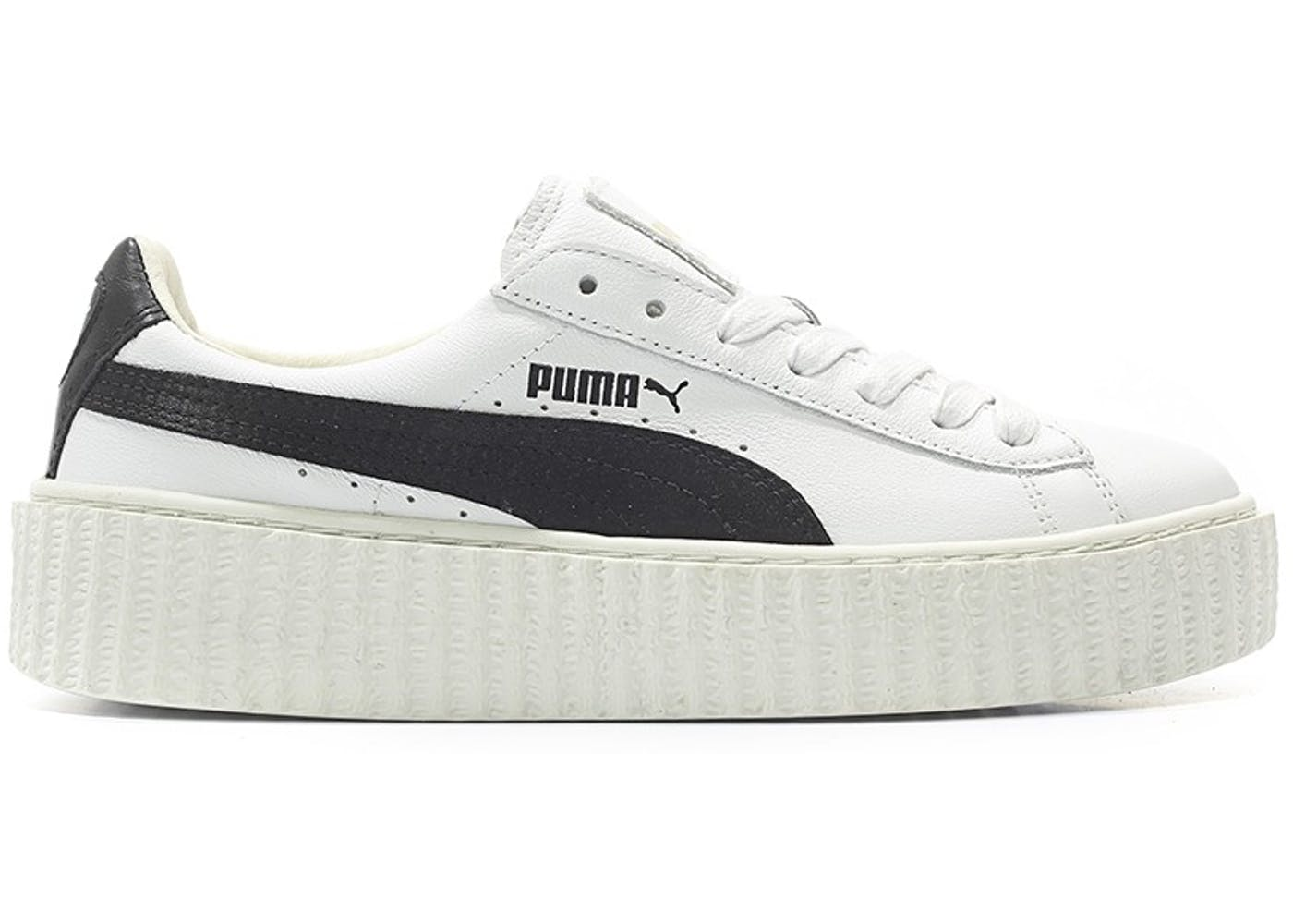 puma creeper rihanna fenty leather white w. Black Bedroom Furniture Sets. Home Design Ideas