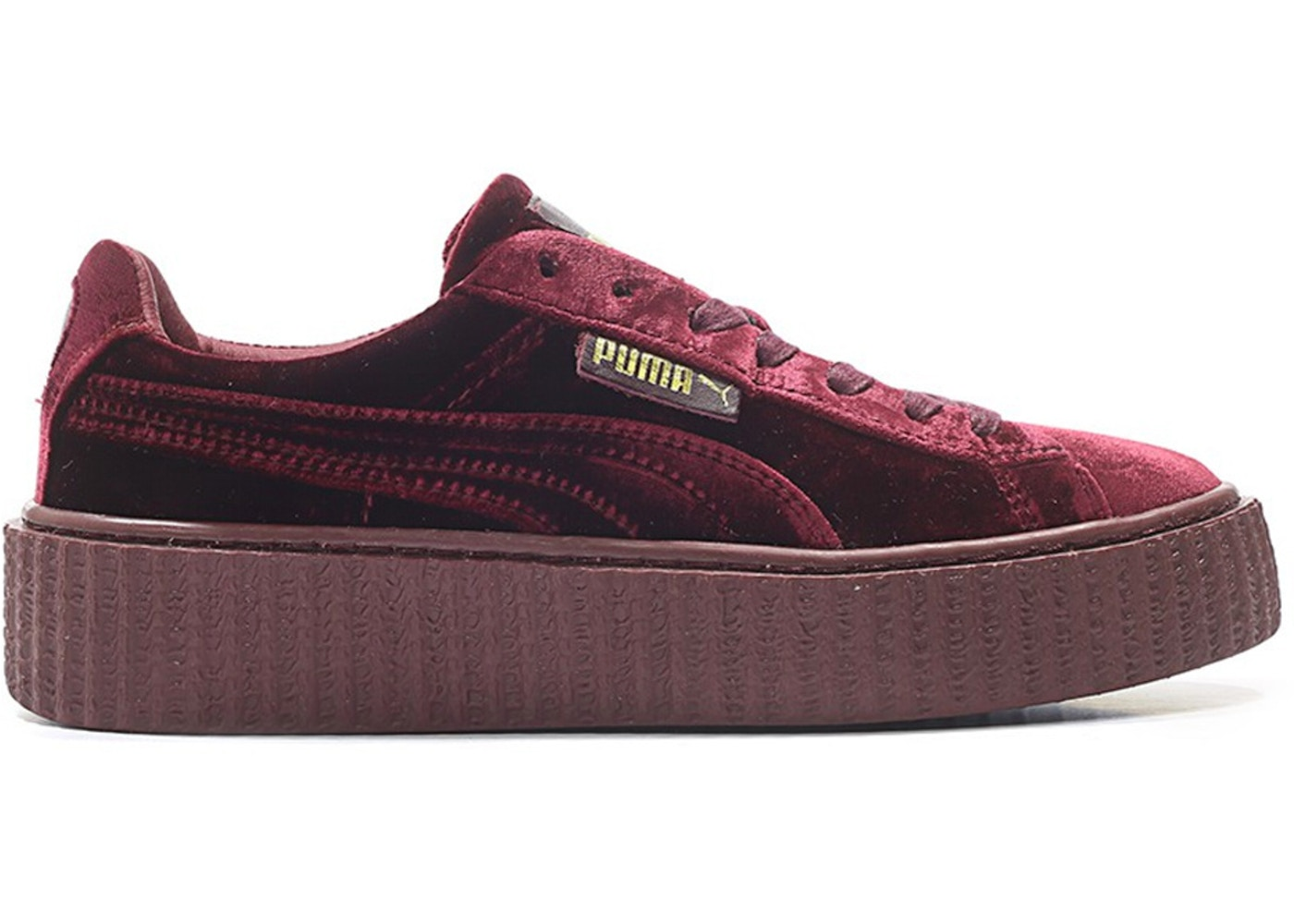 best service 5f04e 4c511 Puma Creeper Velvet Rihanna Fenty Royal Purple (W)