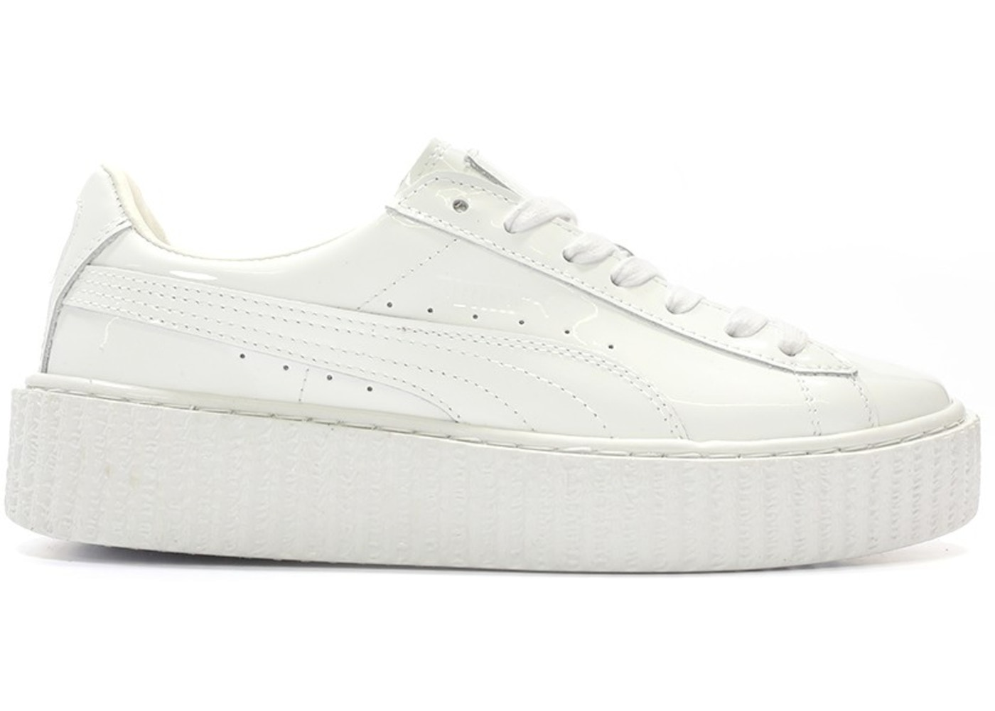 low priced 11730 38aa6 Puma Creepers Rihanna Fenty Glossy White (W)