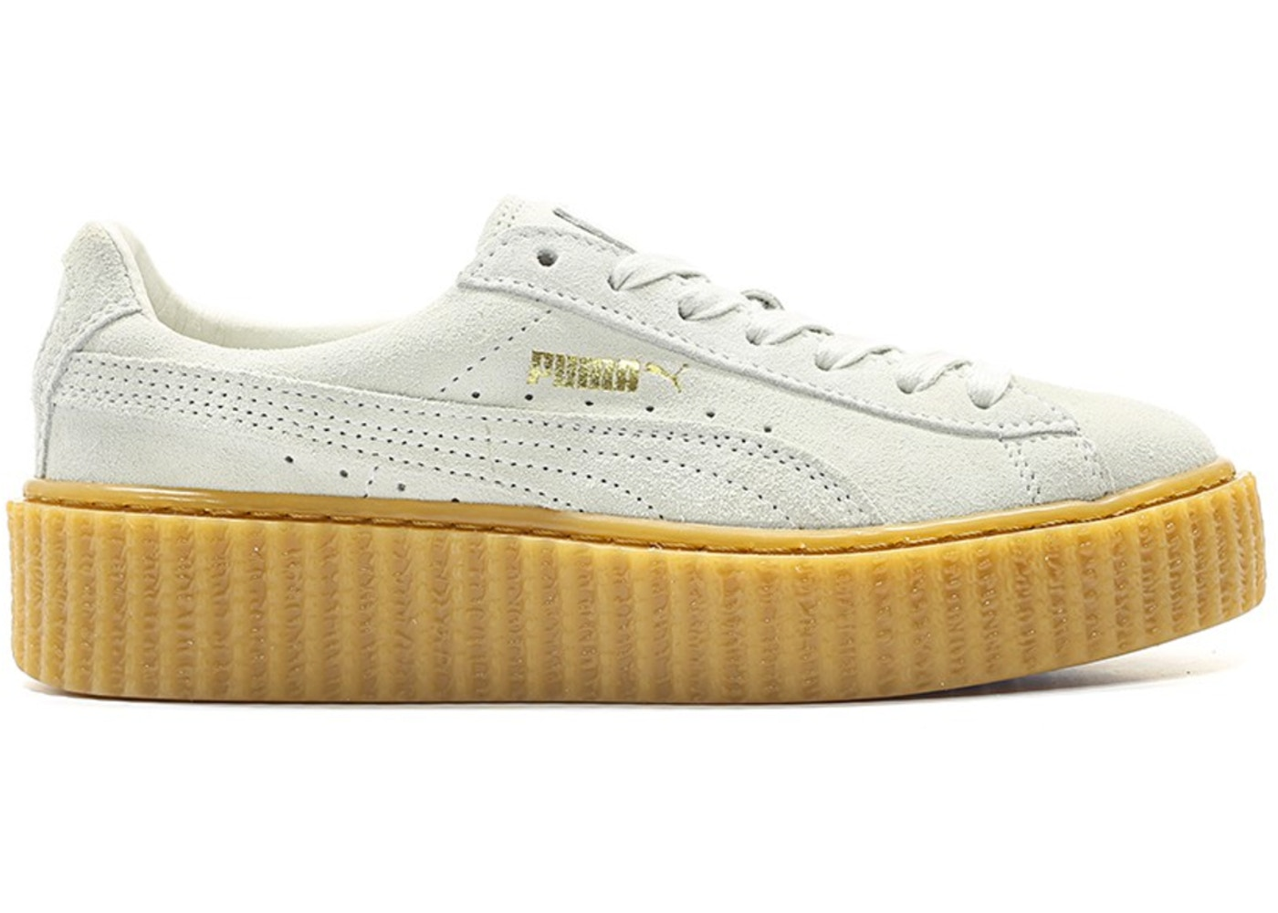 cheap for discount 9d0d0 ea2f9 Puma Creepers Rihanna Fenty White Oatmeal (W)