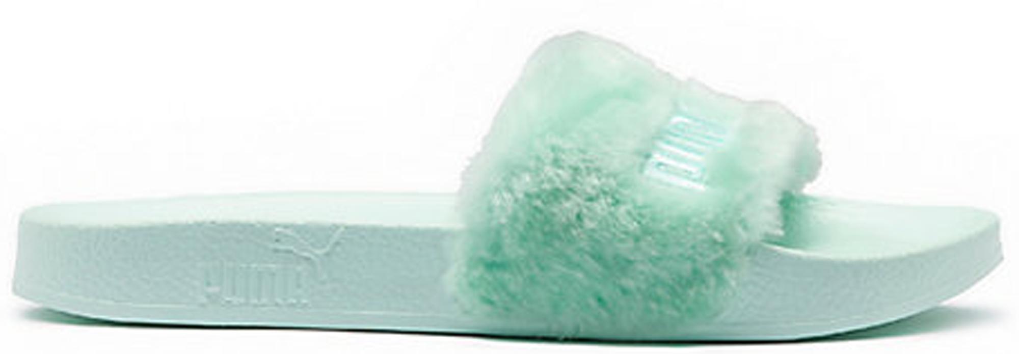 Puma Fur Slide Rihanna Fenty Bay Mint (W)