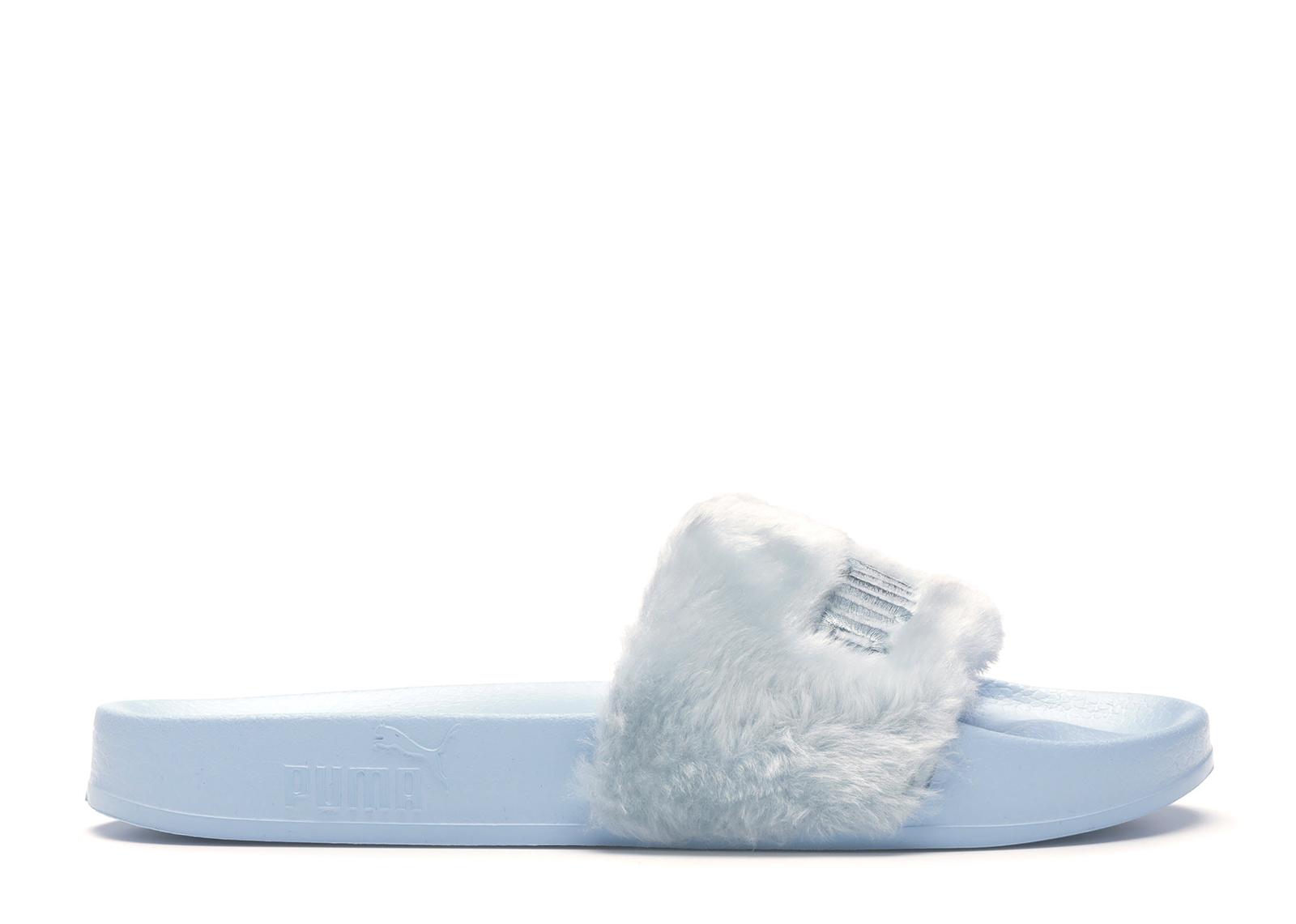 puma fur slide