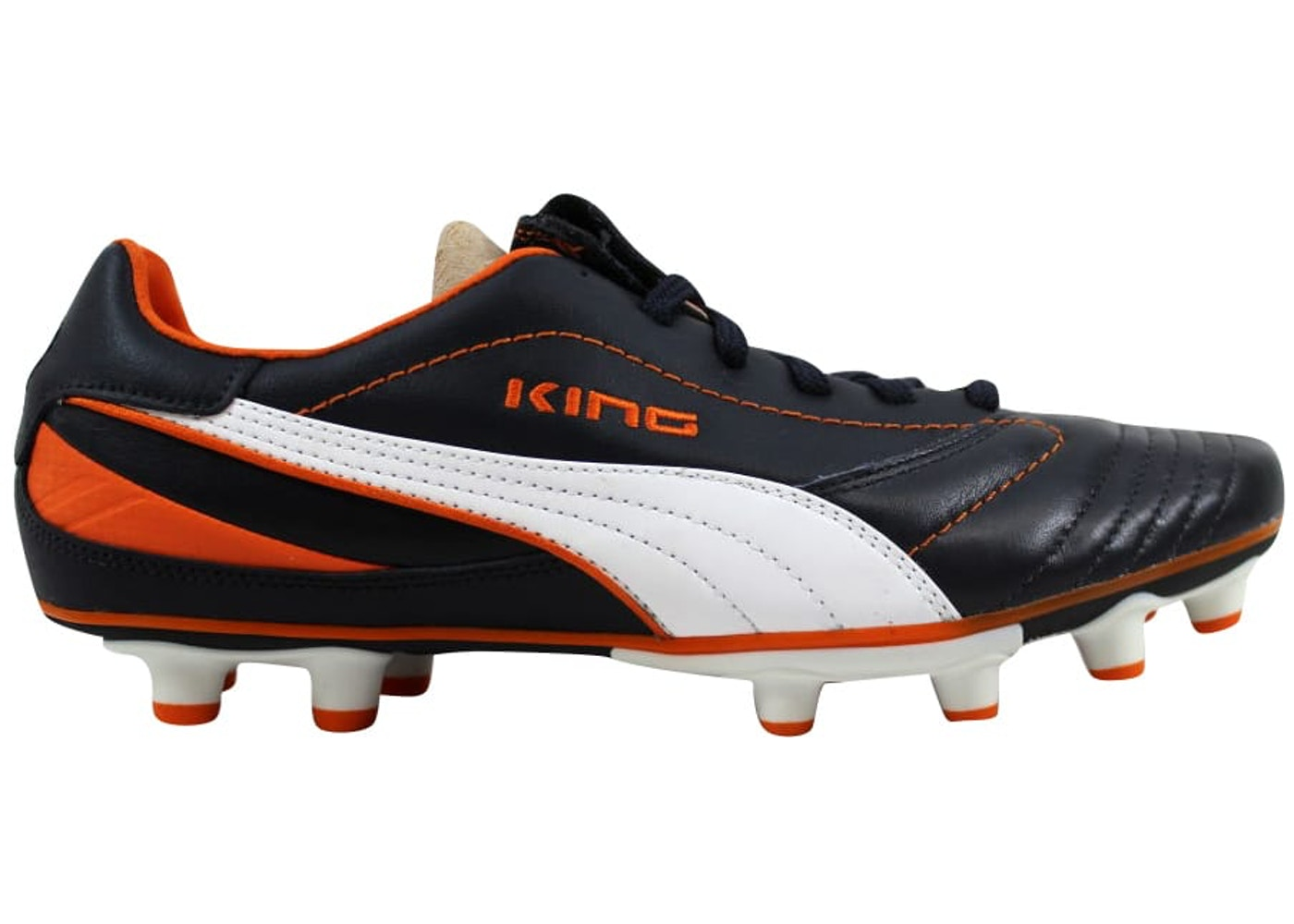 fábrica Grave antiguo  Puma King Finale I FG New Navy/White-Team Orange (W) - 102205-05