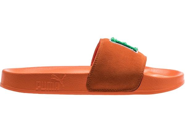 311b7cdf54ac Puma Leadcat Slide Rihanna Fenty FU Orange (W) - 367087-03