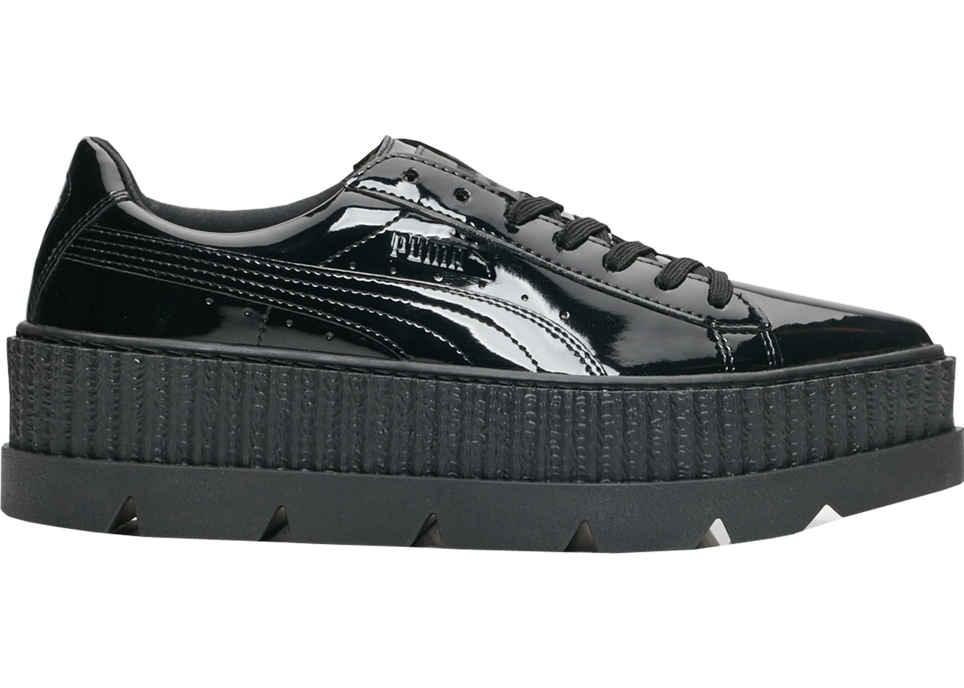 check out 0e04d b5ad6 Puma Pointy Creeper Rihanna Fenty Patent Black (W)