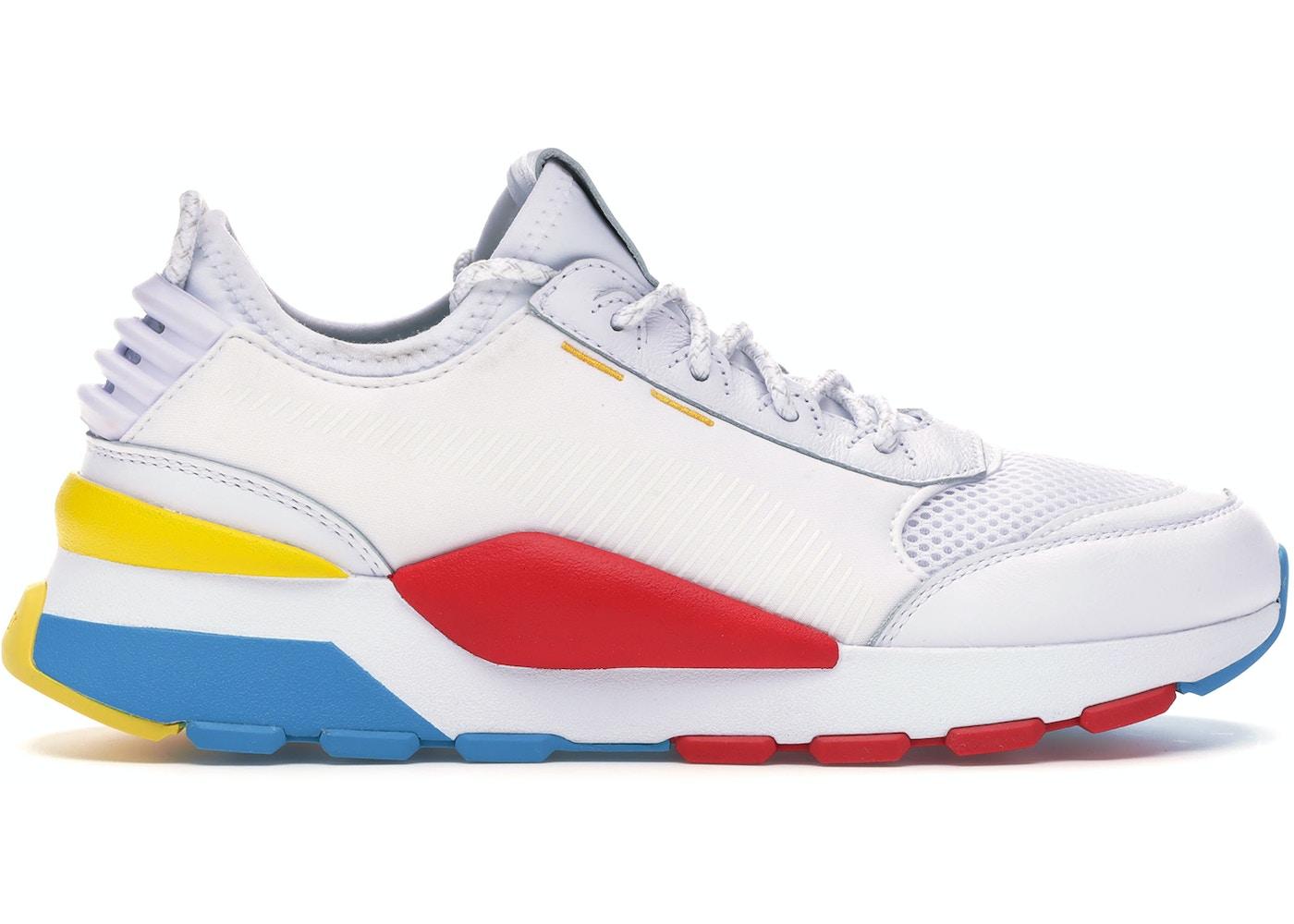 Grapa Apéndice sutil  Puma RS-0 Play White - Sneakers