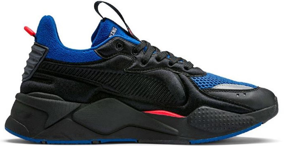 Puma RS-X Softcase Black Red Blue