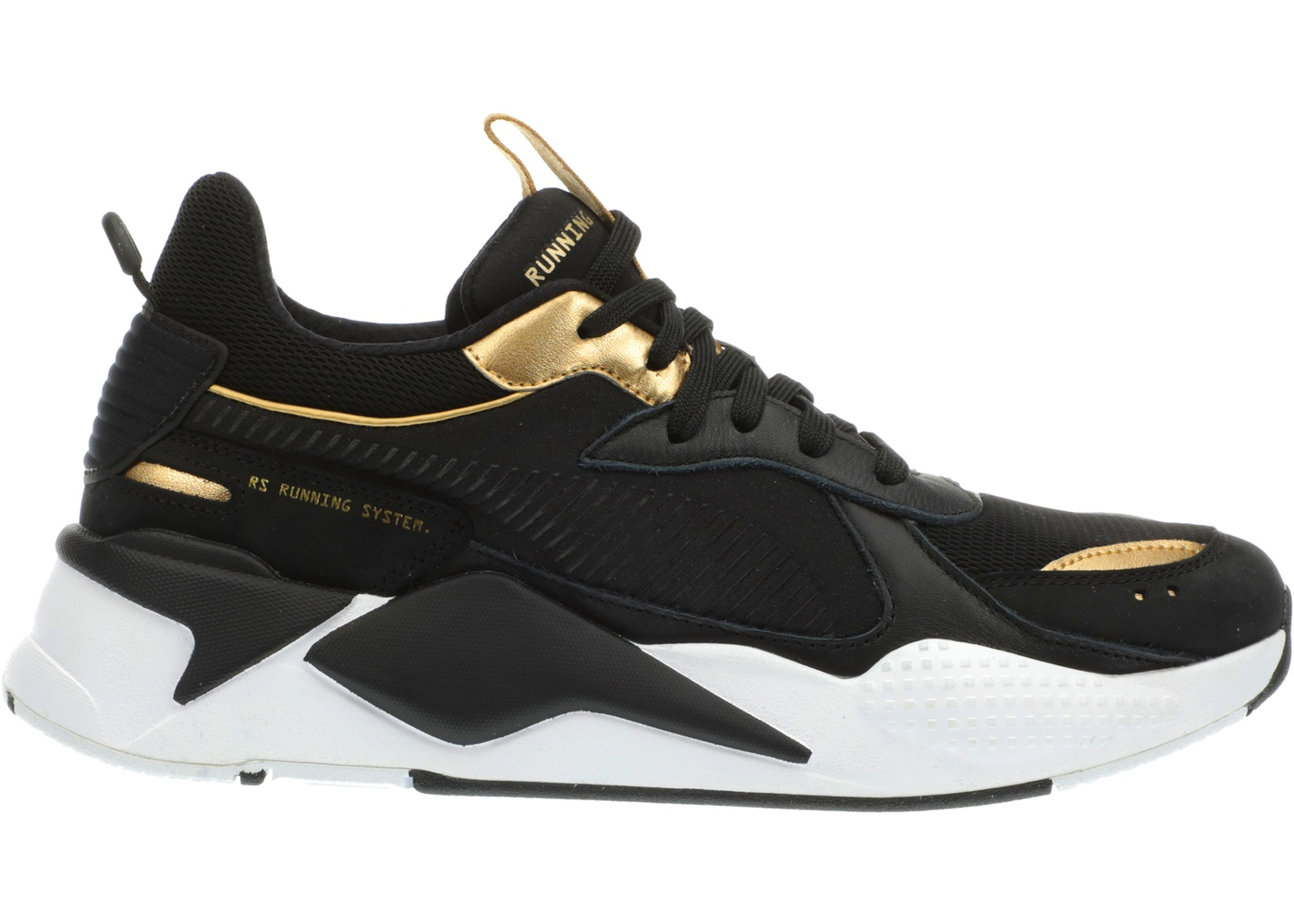 Puma RS-X Trophies Black Gold