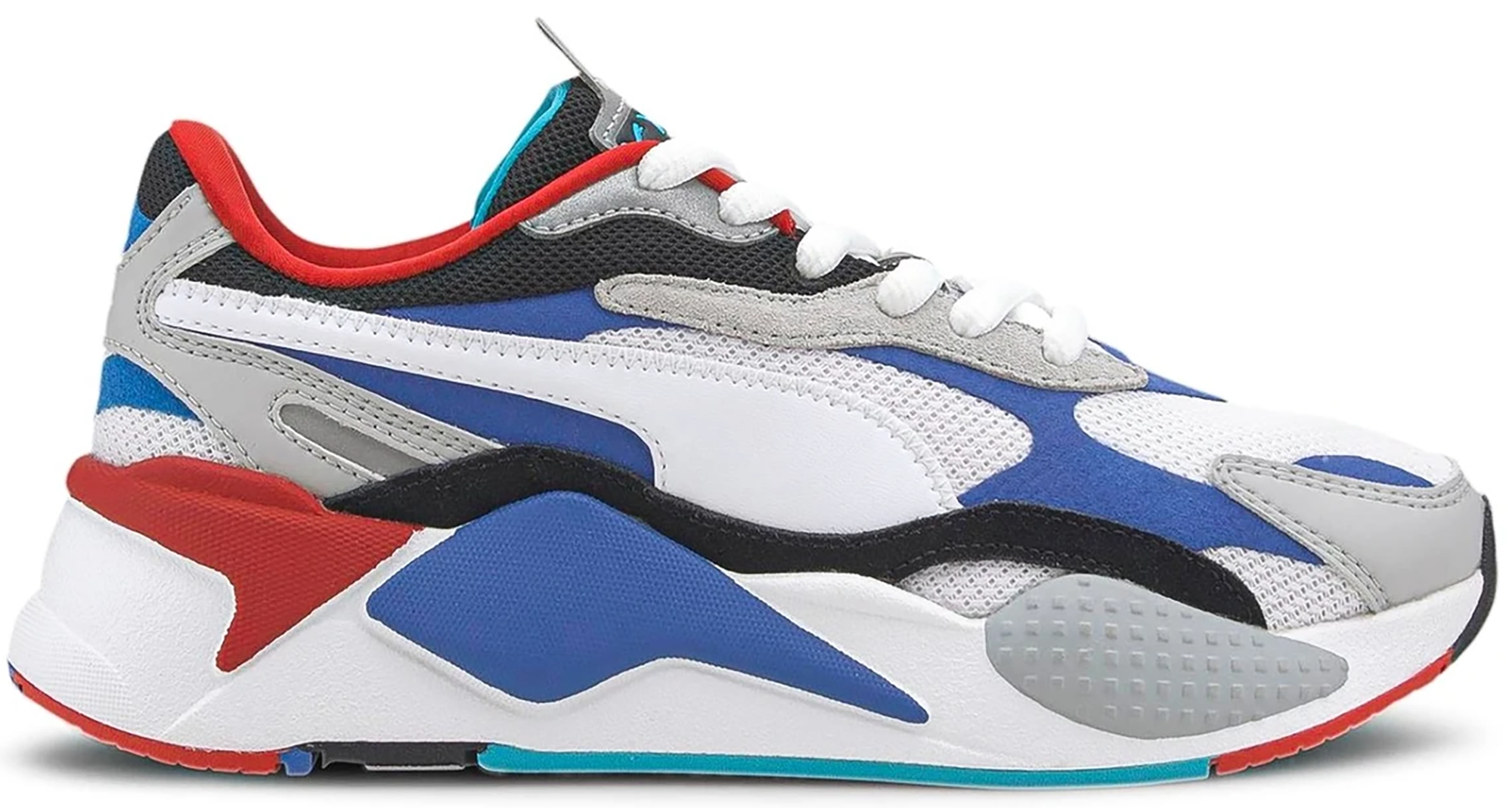 Puma RS-X 3 Puzzle White Blue Red (GS