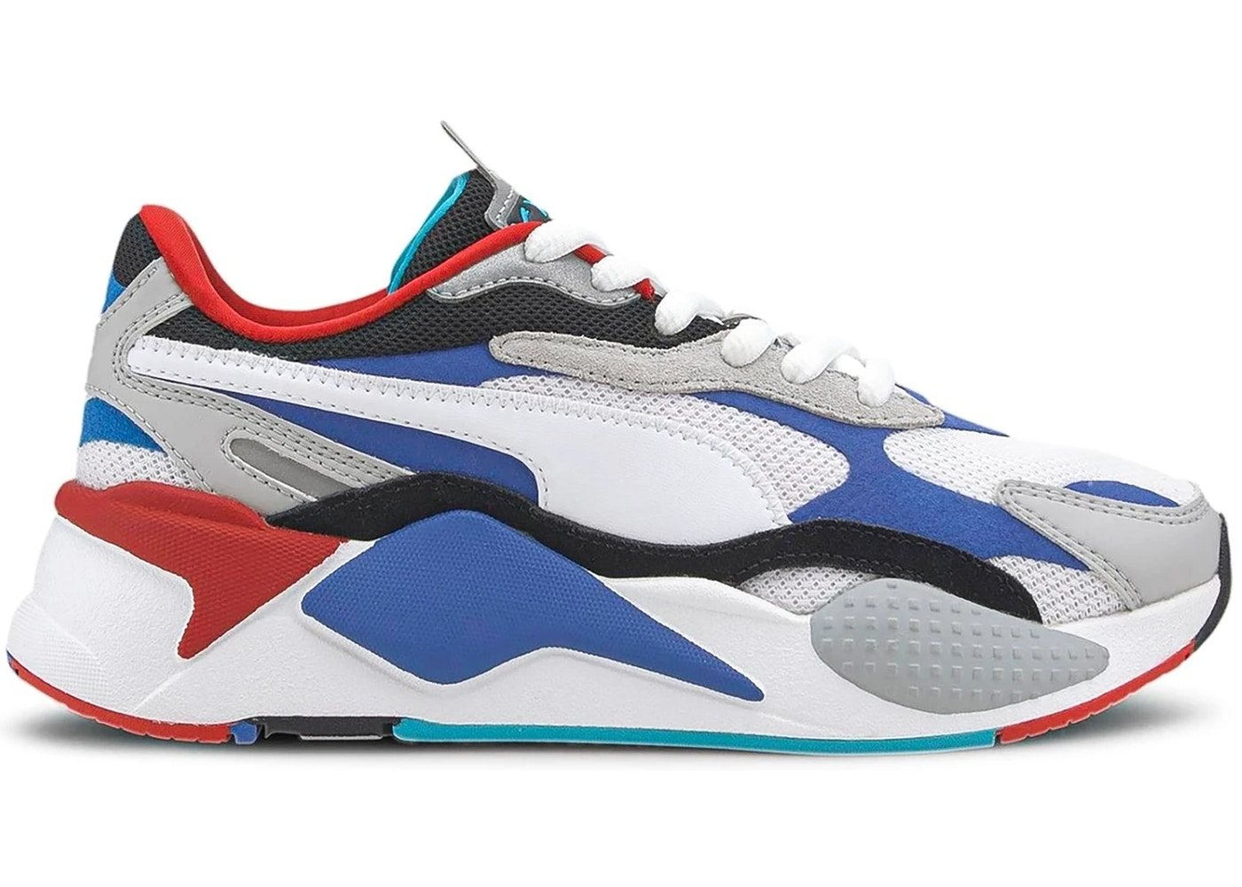 Puma RS-X 3 Puzzle White Blue Red (GS)