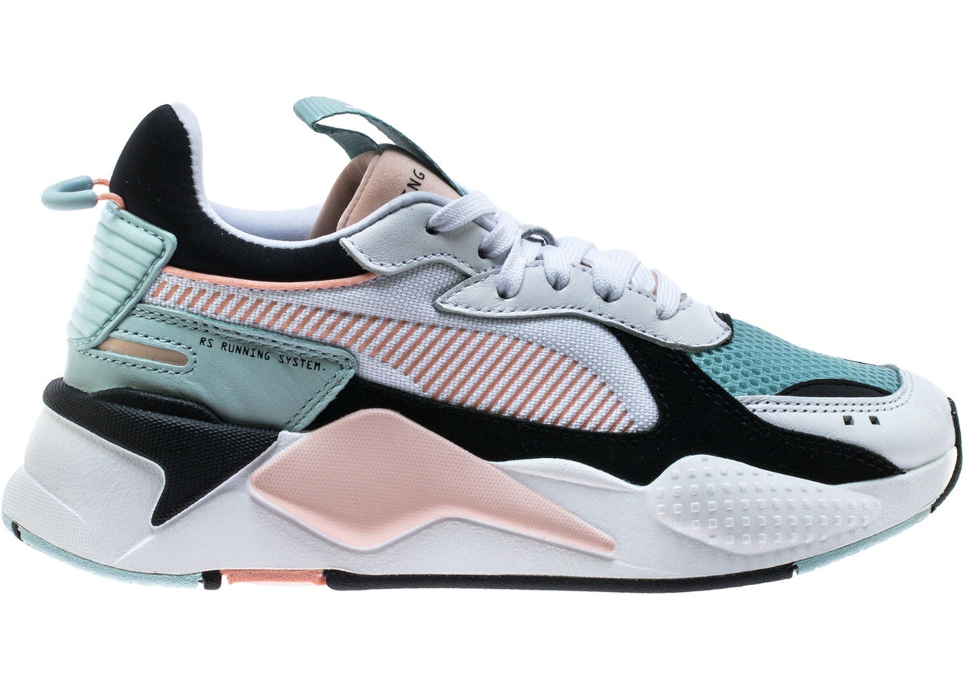 Puma RS-X Reinvention White Pink Aqua (W) - 370749-06