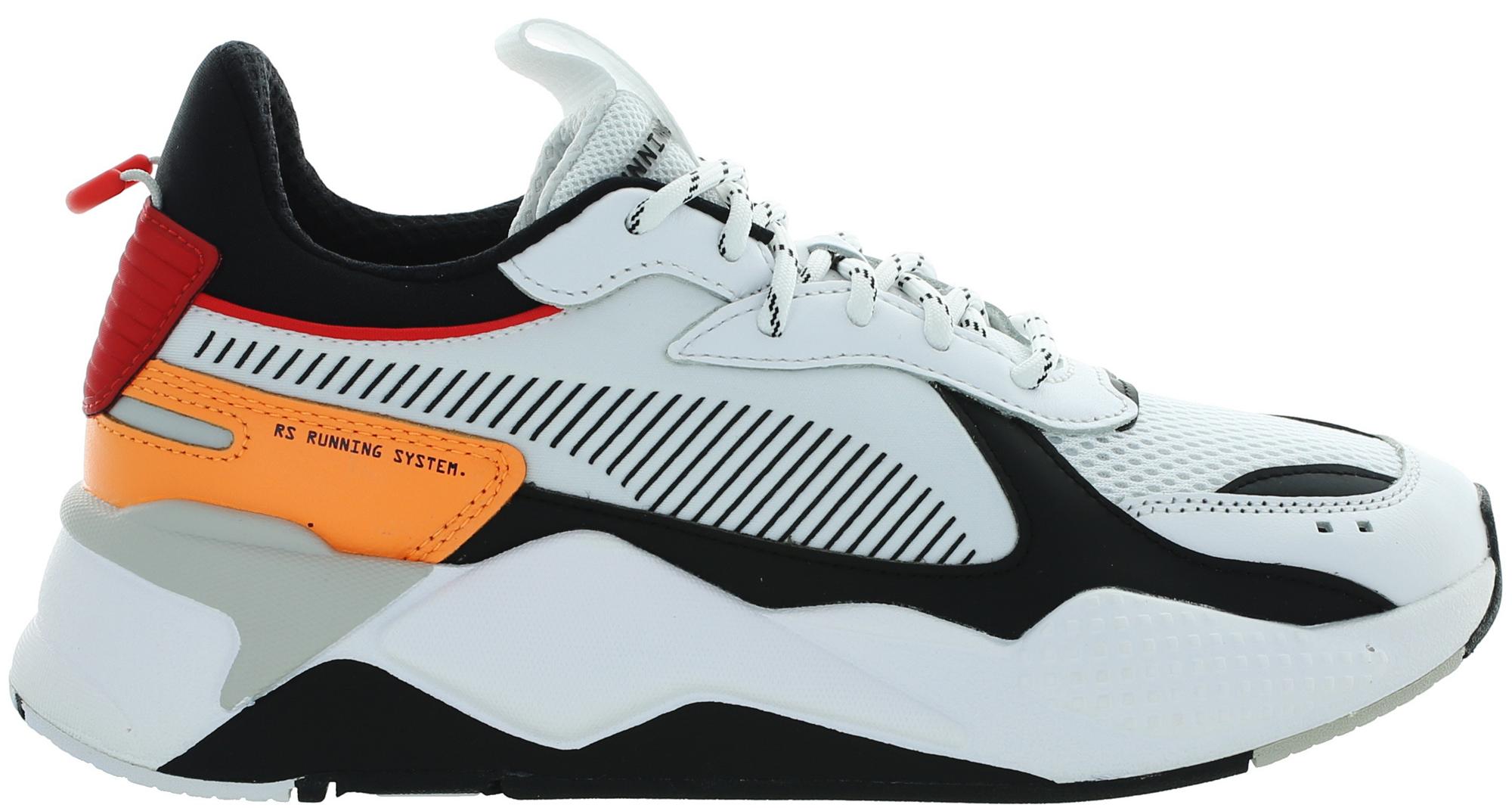 Puma RS-X Tracks White Black Orange