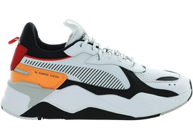 Puma RS-X Tracks White Black Orange