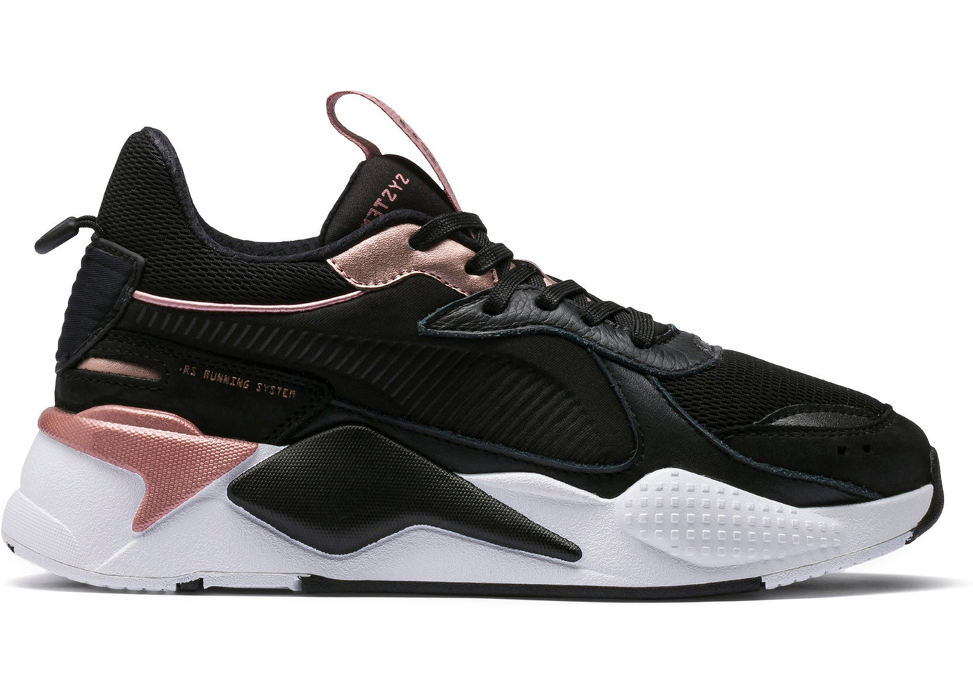 Puma RS-X Trophies Black Rose Gold