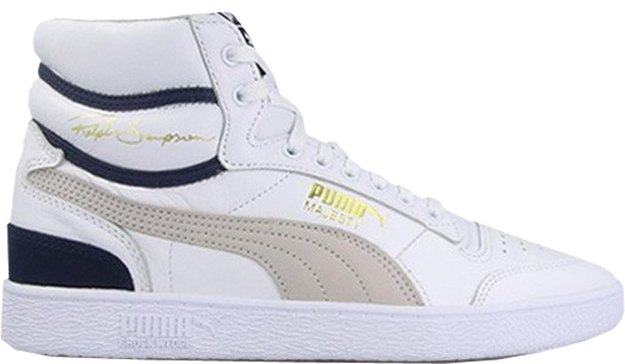 Puma Ralph Sampson Mid OG White Grey