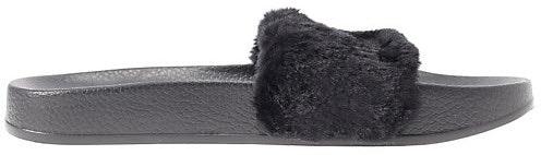 Puma Fur Slide Fur Slide Black (W)